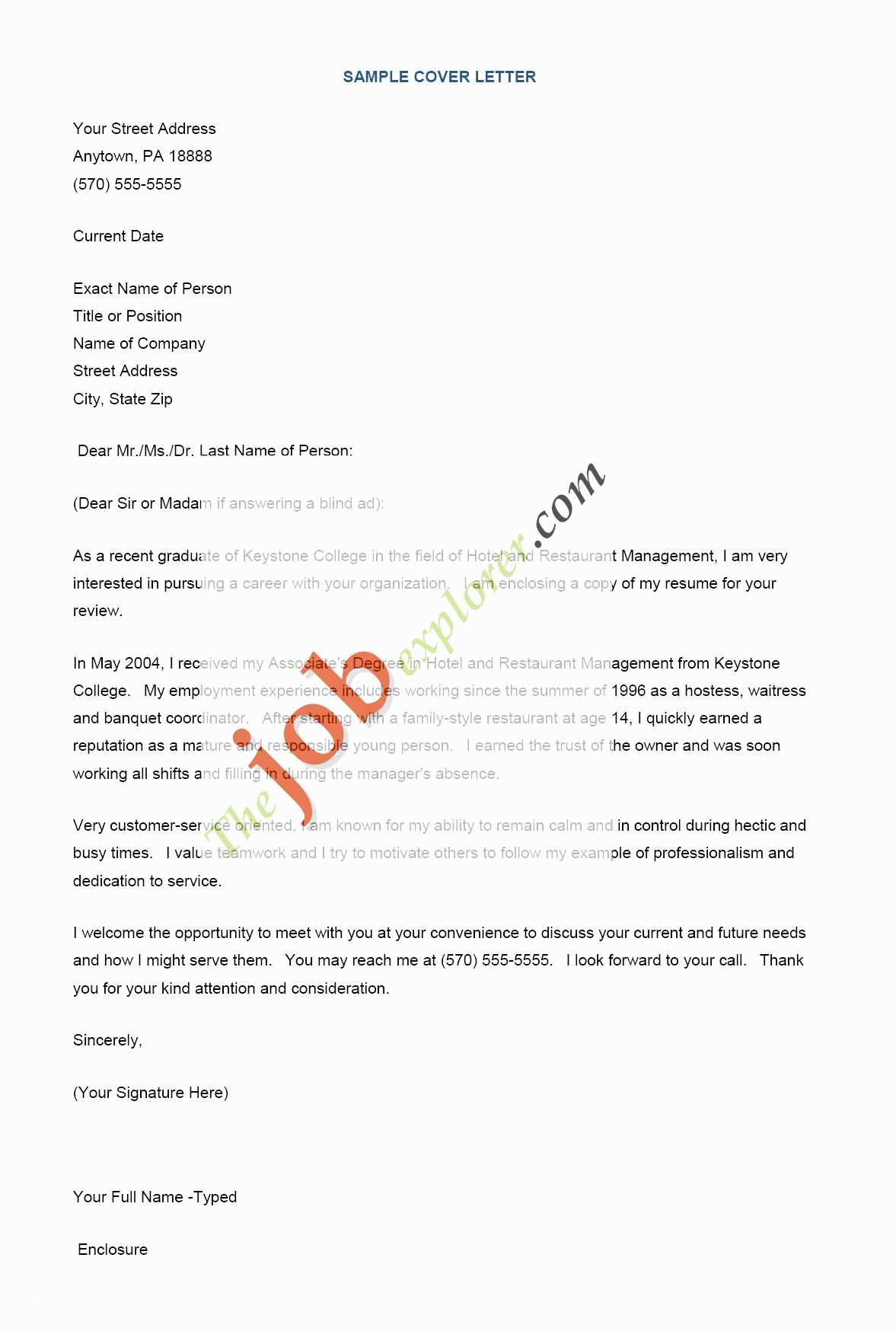 Executive Cover Letter Template - Resume and Cover Letter Template Fresh Best Cover Letter Lovely