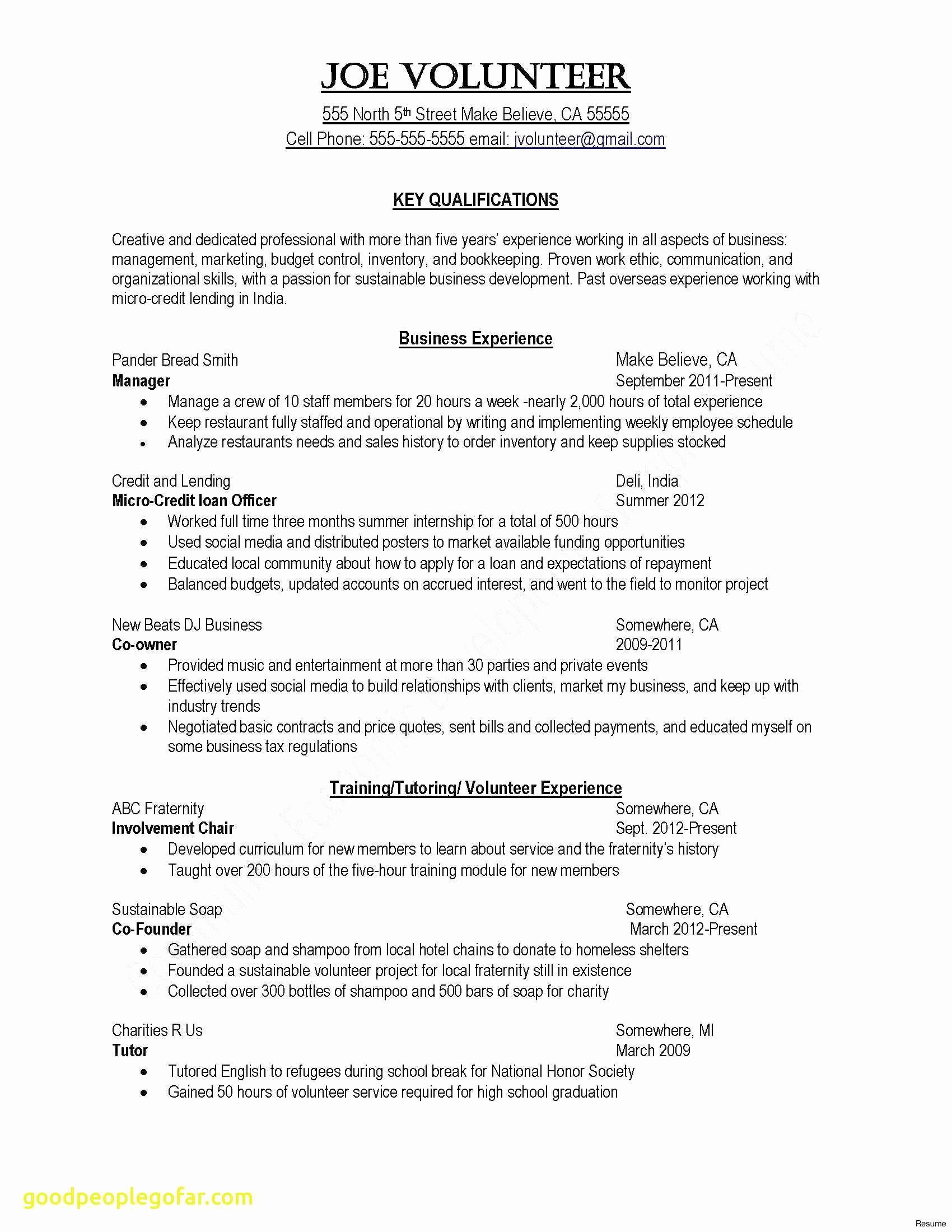 Basic Resume Cover Letter Template - Resume Cover Letter Template Beautiful Elegant Sample College