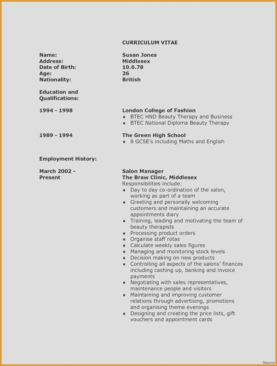 Template for Cover Letter for Teaching Position - Resume for Teaching Position Luxury Resume for Teacher Elegant