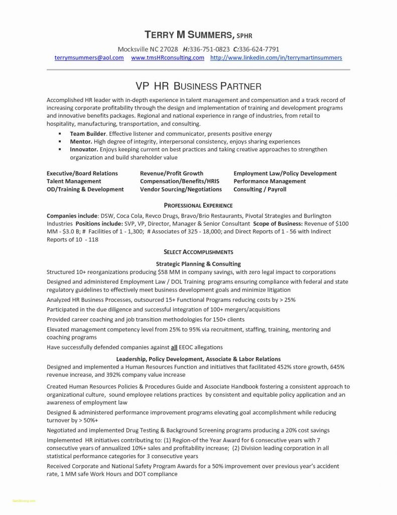 Leed Letter Template - Resume format for Job Leed Letter Template Elegant Resume Template C