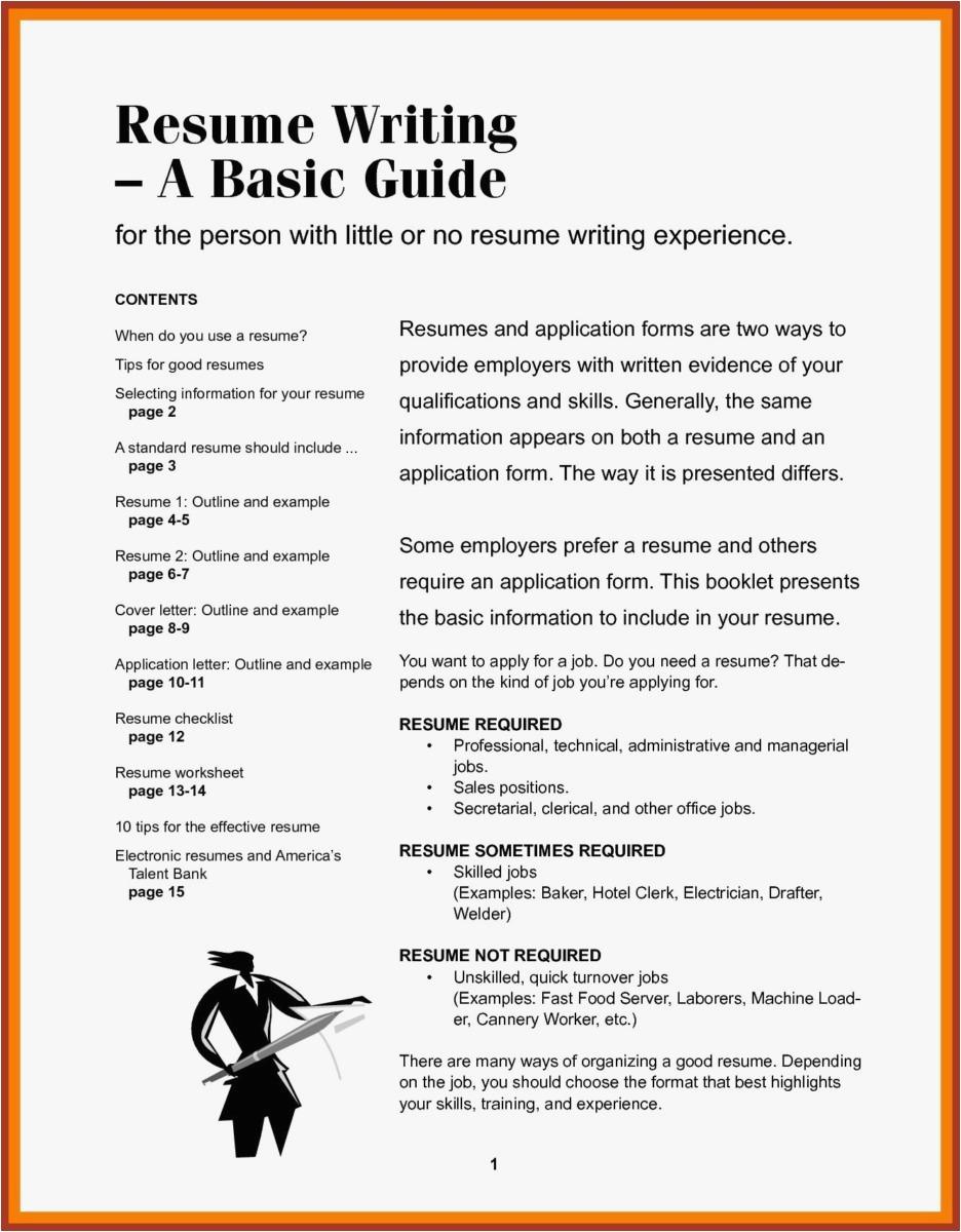 Letter Outline Template - Resume Outline Free Examples Elegant Pr Resume Template Elegant