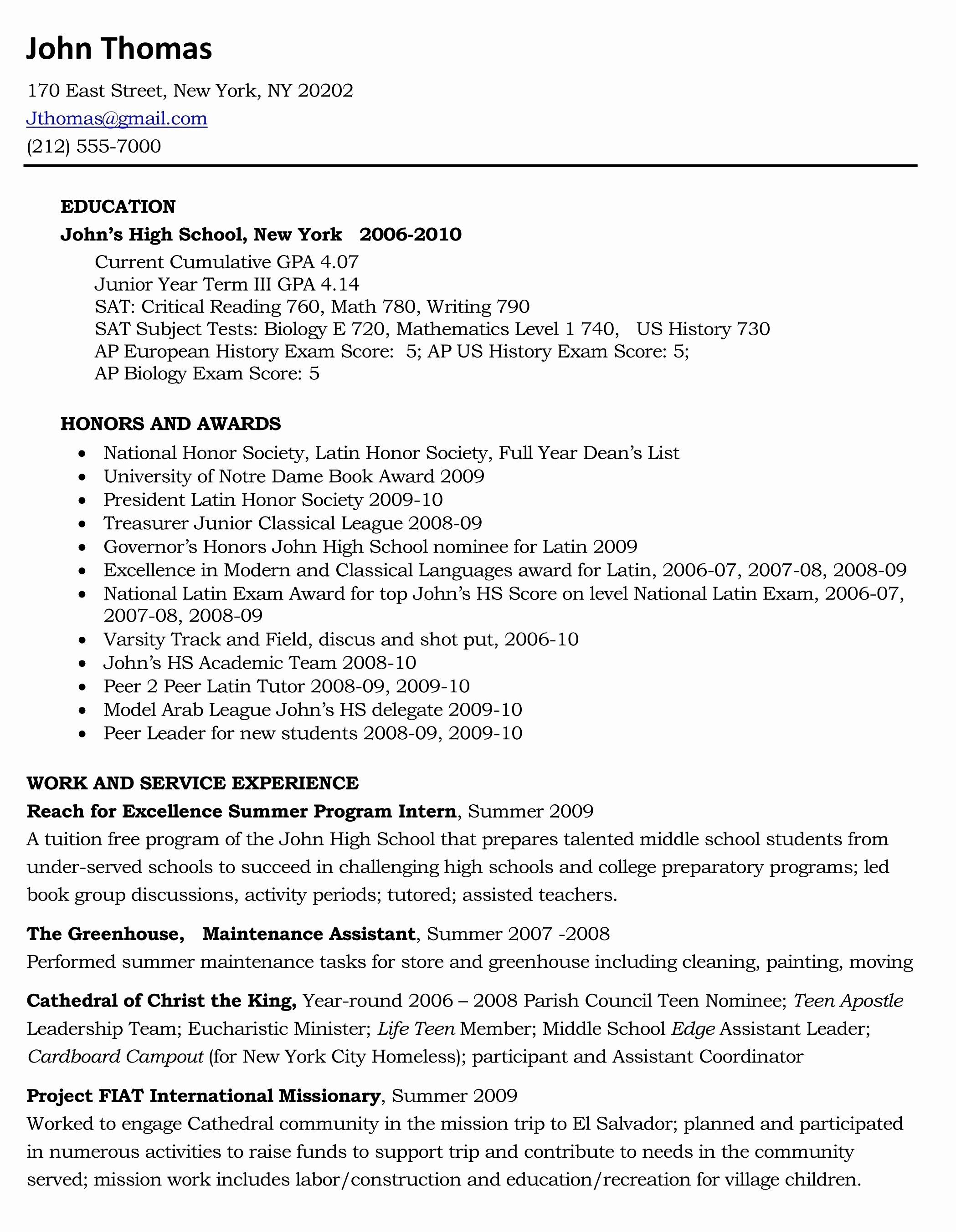 Mission Trip Letter Template - Resume Portfolio Template Inspirational Resume Portfolio Template