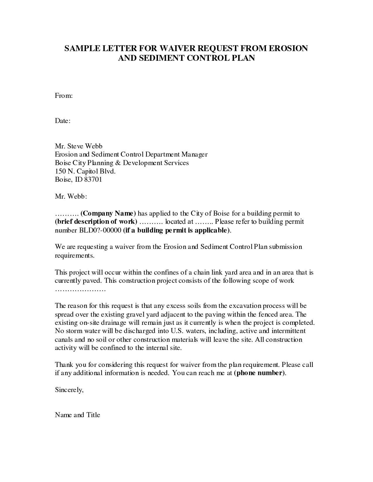 Dismissal Letter Template - Sample A Job Termination Letter Valid Sample Waiver Letter Luxury
