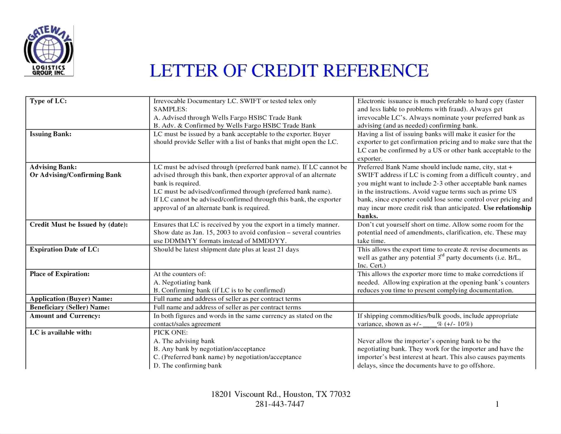 Letter Of Credit Confirmation Template - Sample Beneficiary Certificate Letter Credit Fresh Affidavit