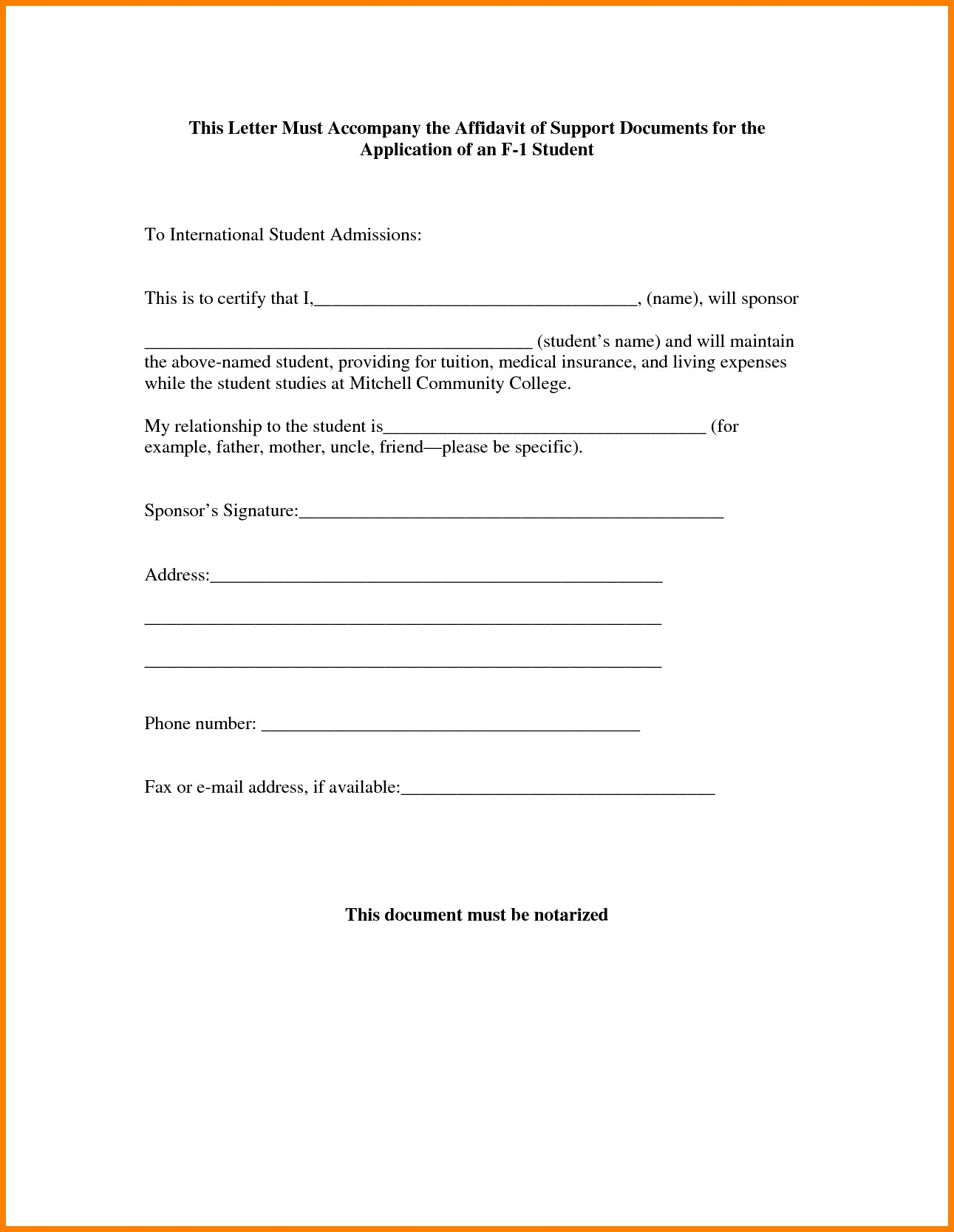 Spousal Support Letter Template - Sample Certificate Authority Copy Child Support Letters Sample