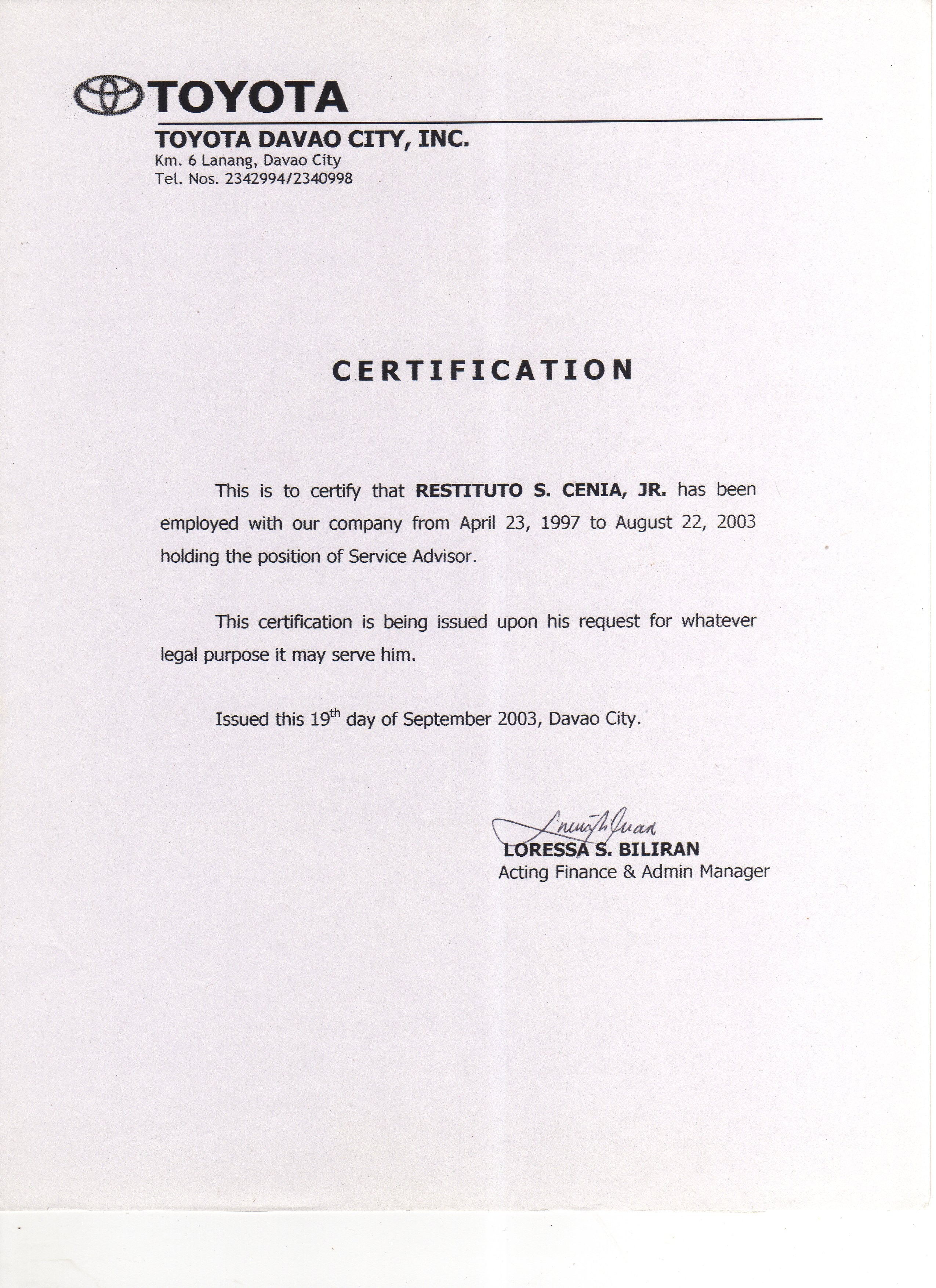 Proof Of Employment and Salary Letter Template - Sample Certificate Employment with Salary Indicated Best