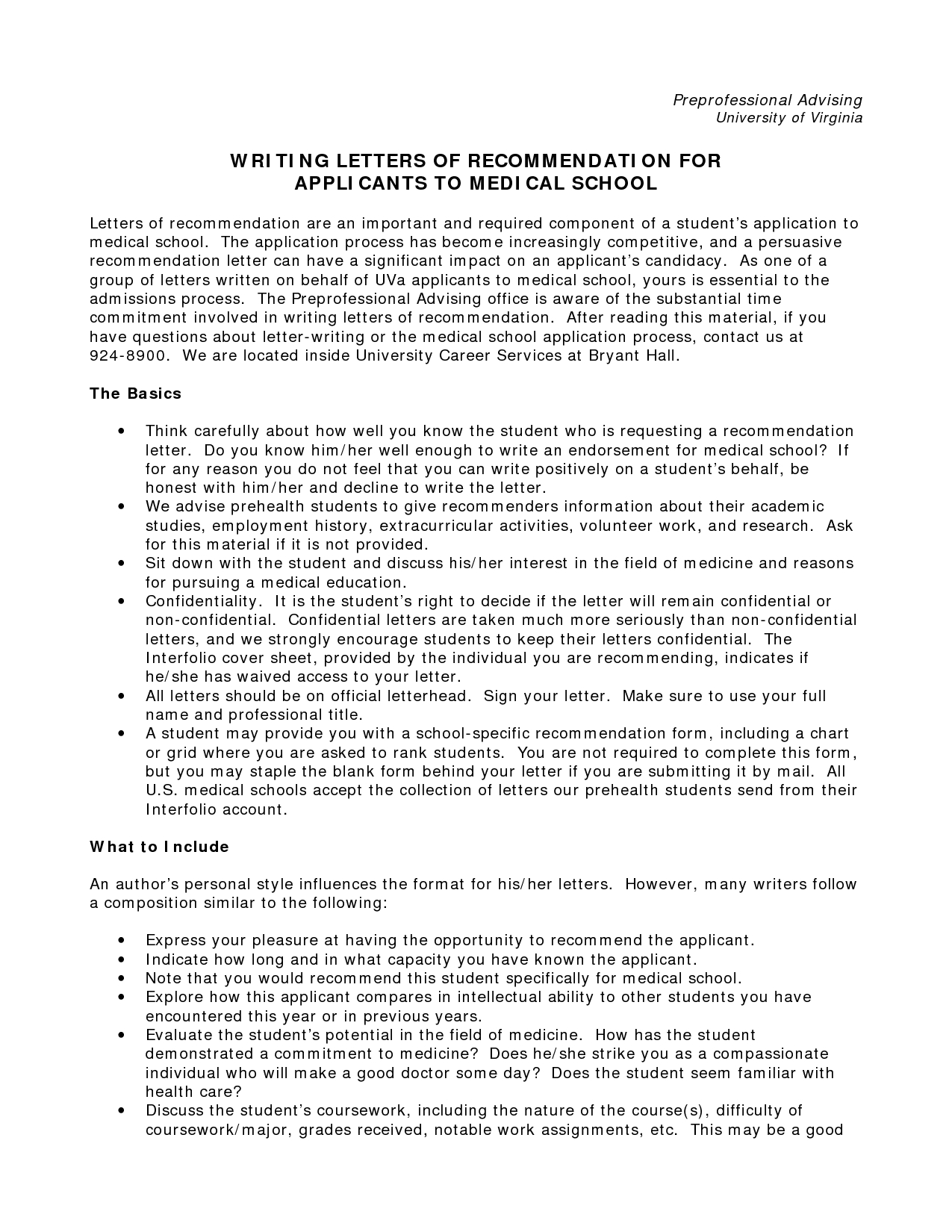 Template for Letter Of Recommendation for Medical School - Sample Character Reference Letter for School Admission