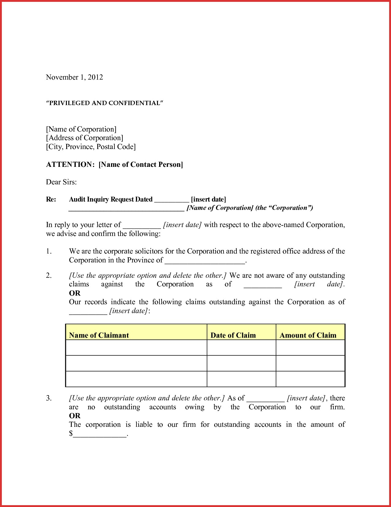 Audit Confirmation Letter Template - Sample Confirmation Valid Best Balance Confirmation Letter