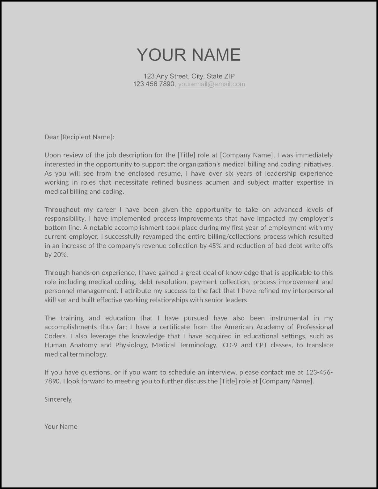 Proof Of Debt Letter Template - Sample Cover Letters for Resumes Best Job Fer Letter Template Us