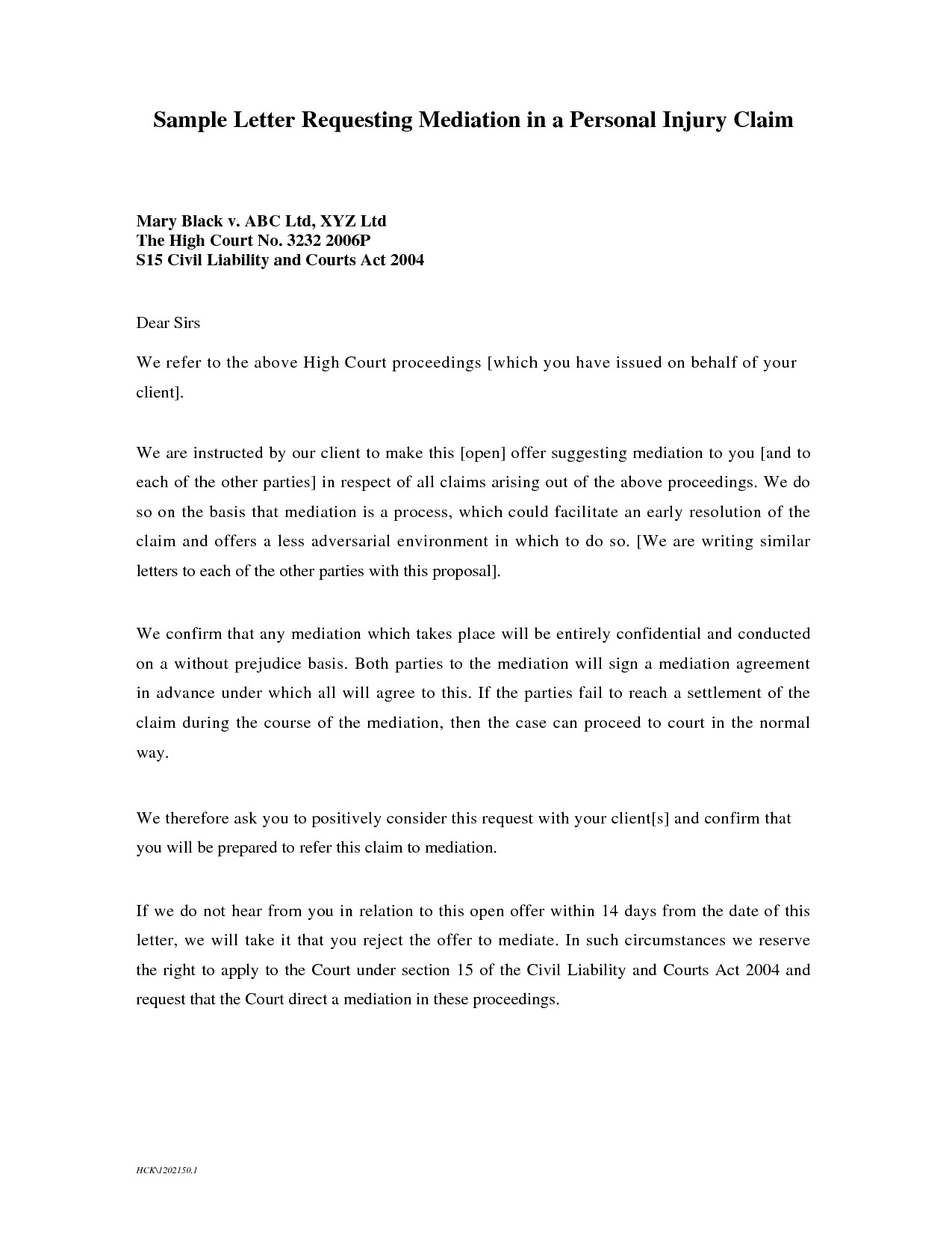 Small Claims Court Letter Of Demand Template Sample For Car Accident Fresh How