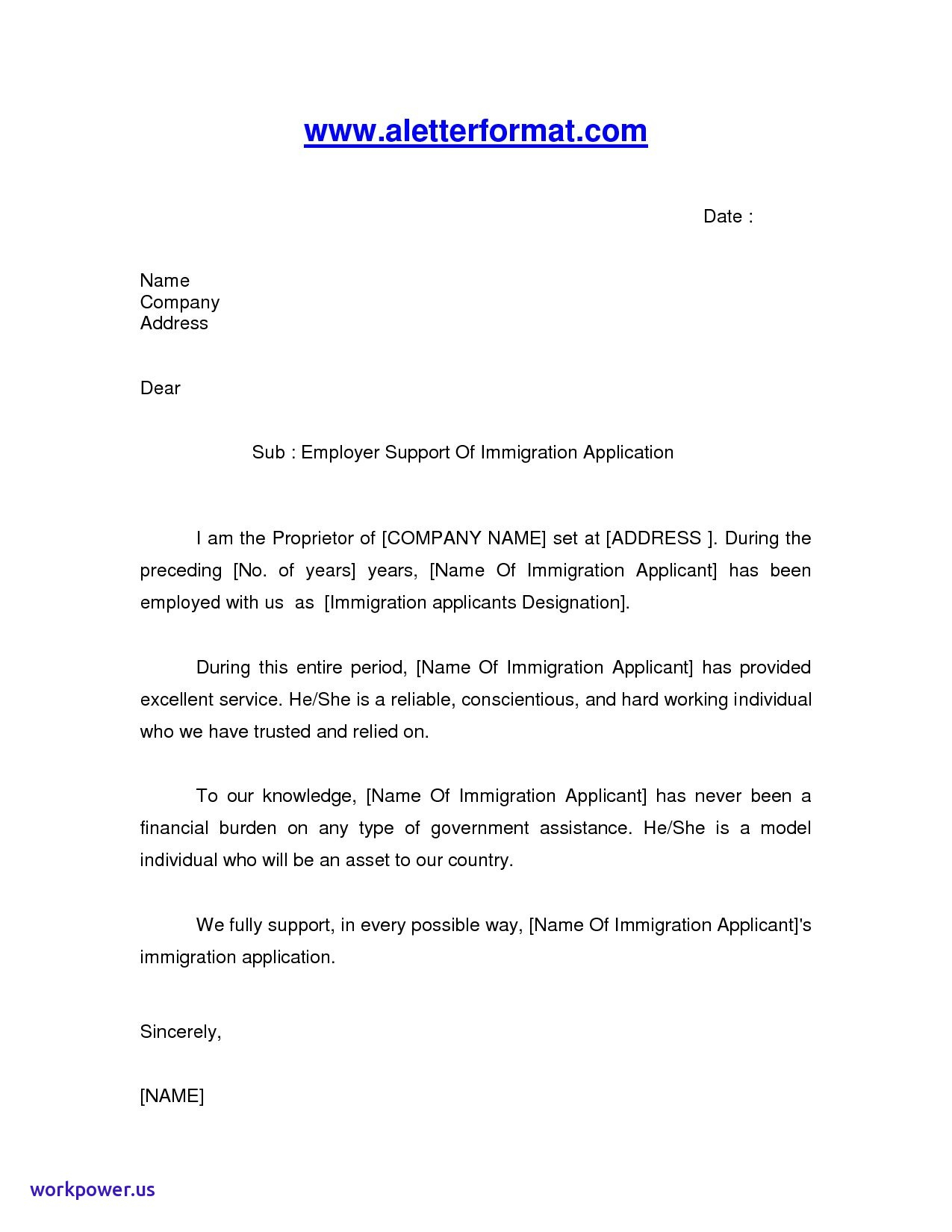 Immigration Reference Letter Template - Sample Immigration Reference Letter for A Friend
