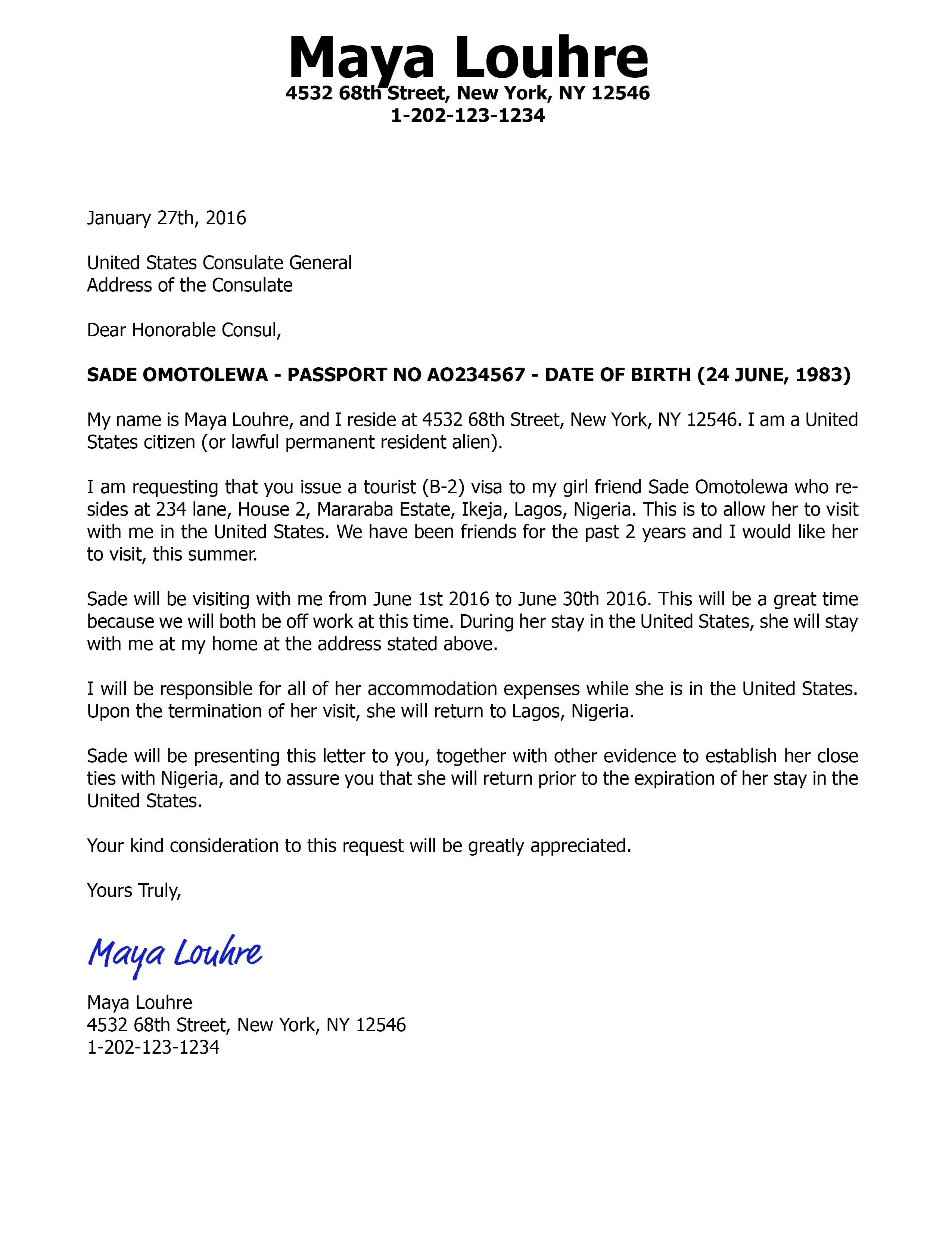 Template for Invitation Letter for Us Visa - Sample Invitation Letter Chinese Business Visa Fresh Invitation