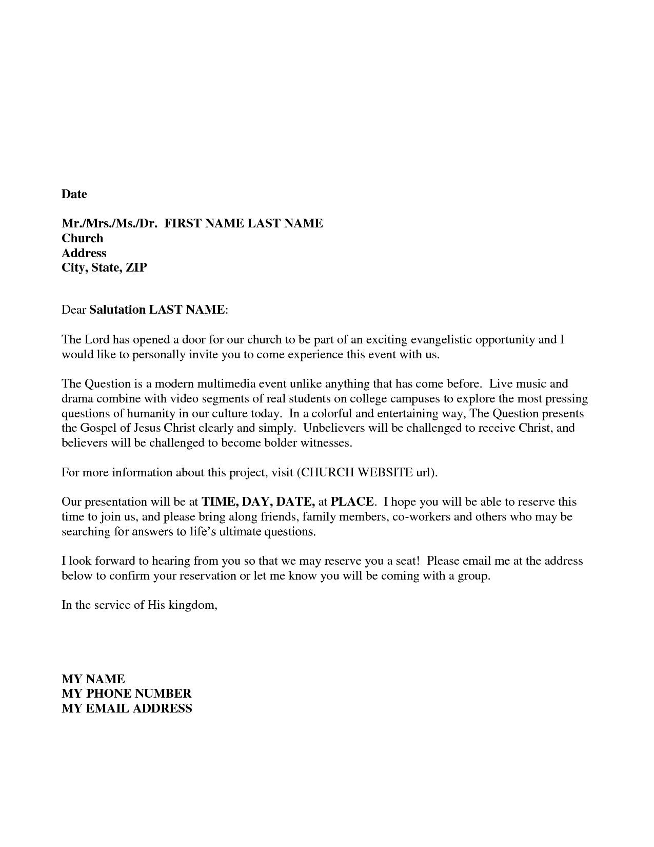 Company Rebrand Letter Template - Sample Invitation Letter Guest Speaker Best Guest Speaker