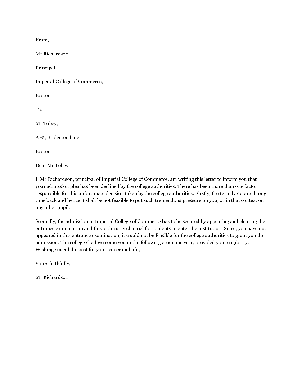 Confirmation Letter Template - Sample Job Verification Letter