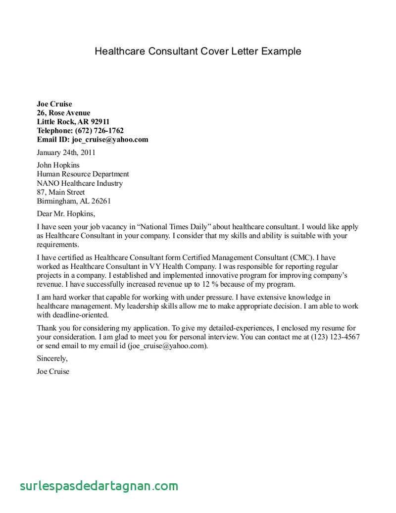 Free Employment Verification Letter Template - Sample Job Verification Letter Unique Od Consultant Cover Letter