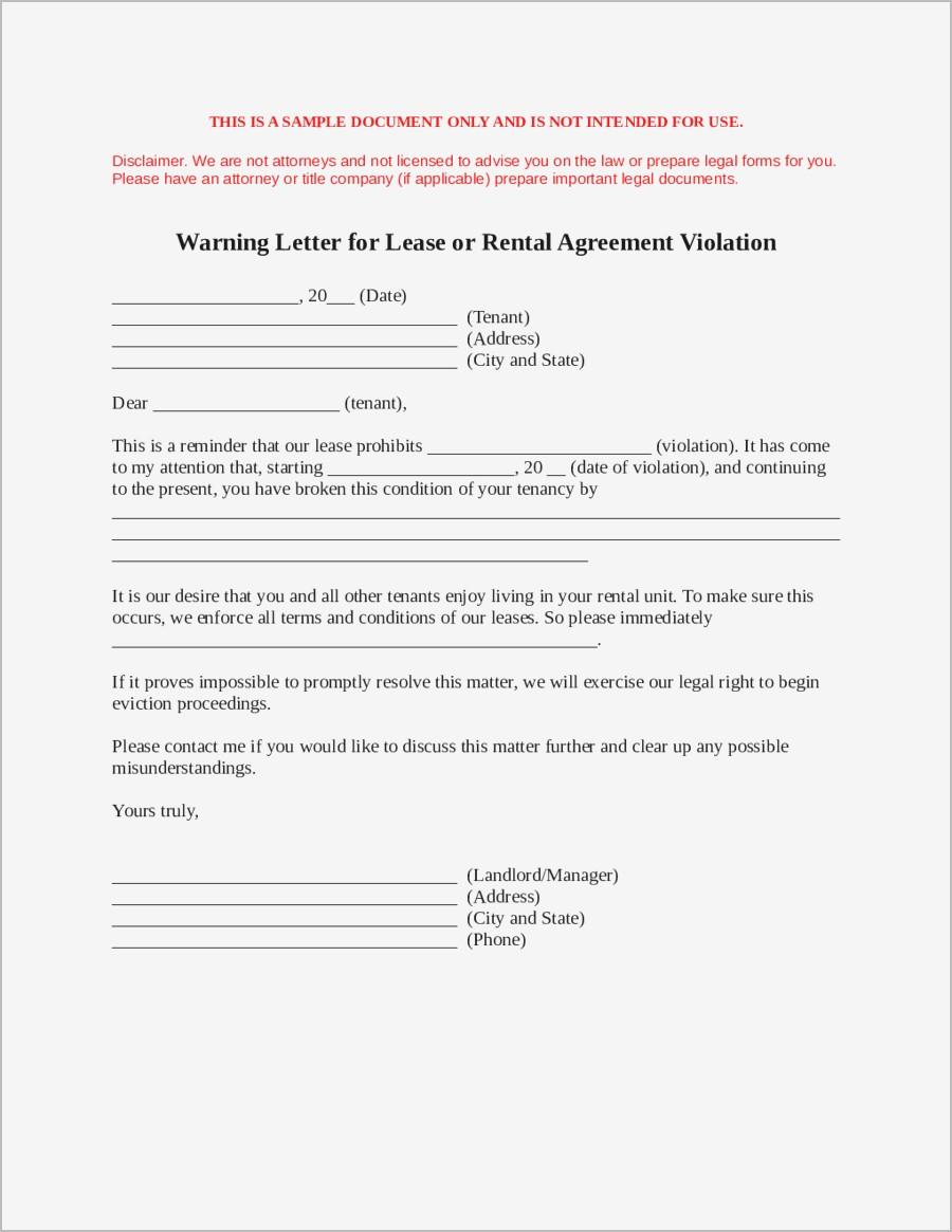 Breaking Lease Agreement Letter Template - Sample Letter to Break Lease Samples