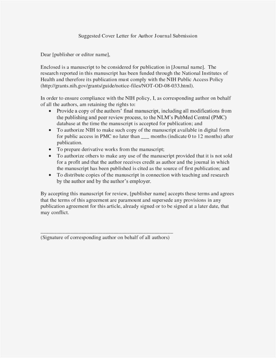 Non Disclosure Letter Template - Sample Non Disclosure Agreement Examples Fresh Non Disclosure