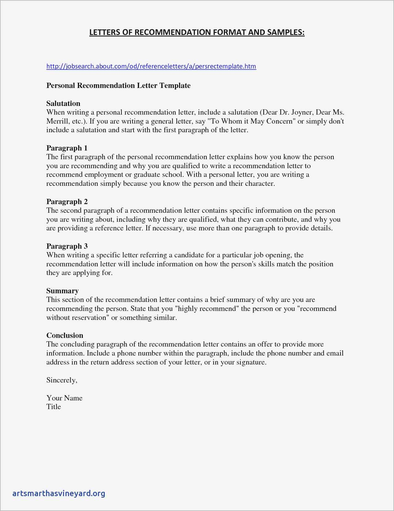 Template For College Recommendation Letter Examples Letter