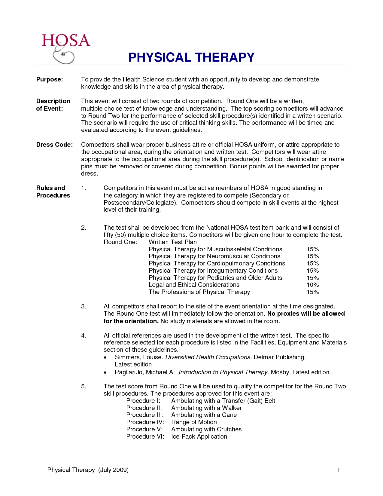 Physical therapist Cover Letter Template Samples