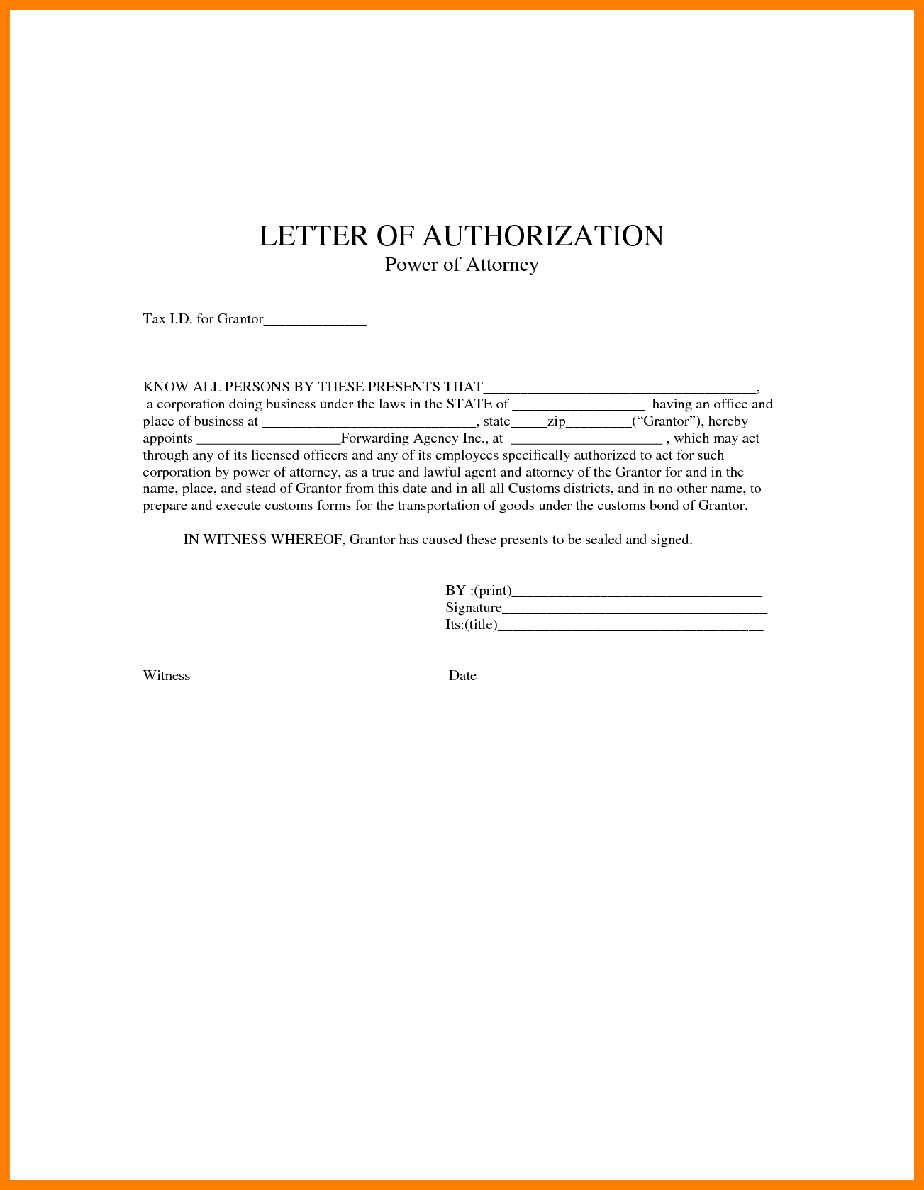 Power Of attorney Resignation Letter Template - Sample Poa Letters Acurnamedia