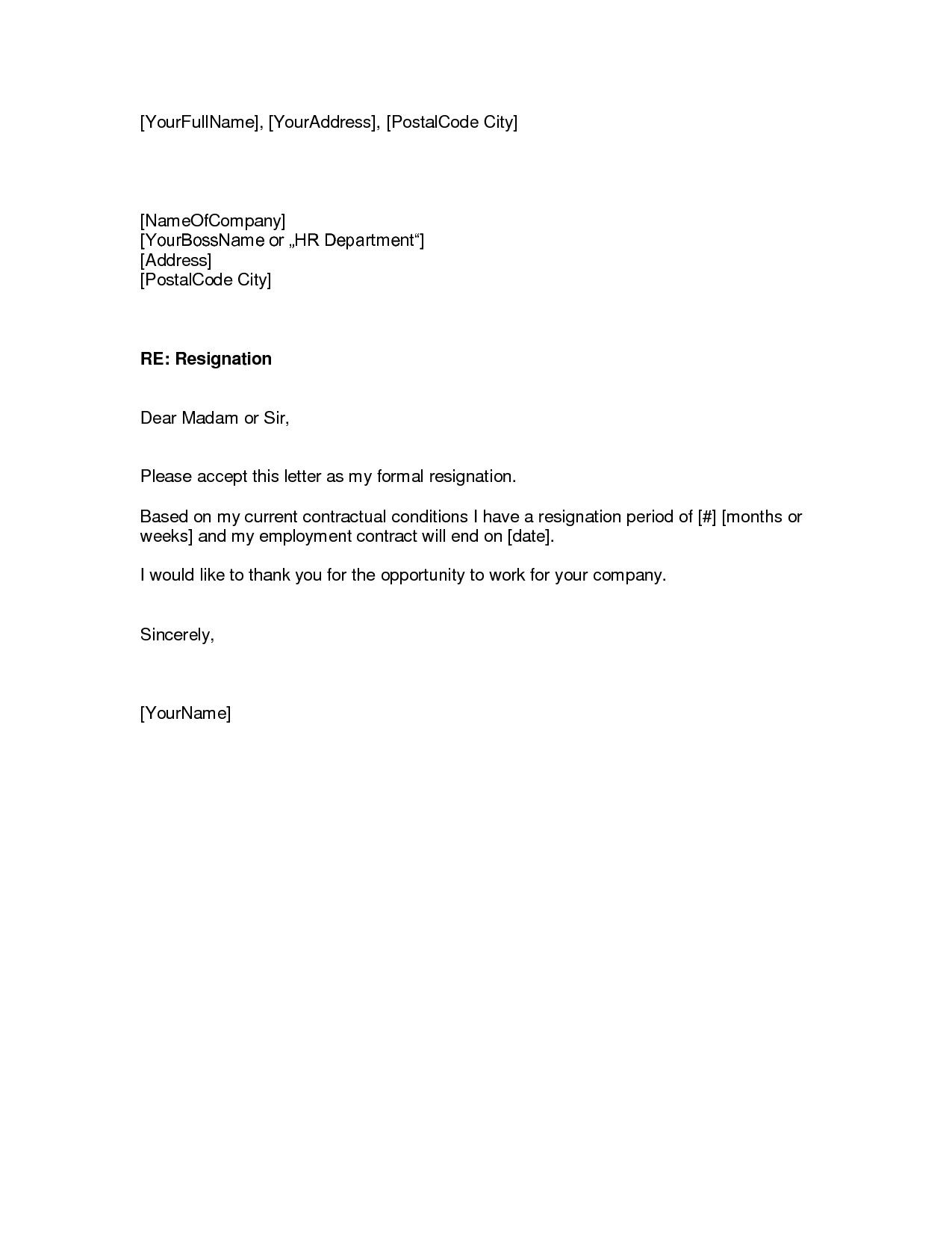 Retirement Resignation Letter Template Free - Sample Resume Reference Page Template Resumecareer