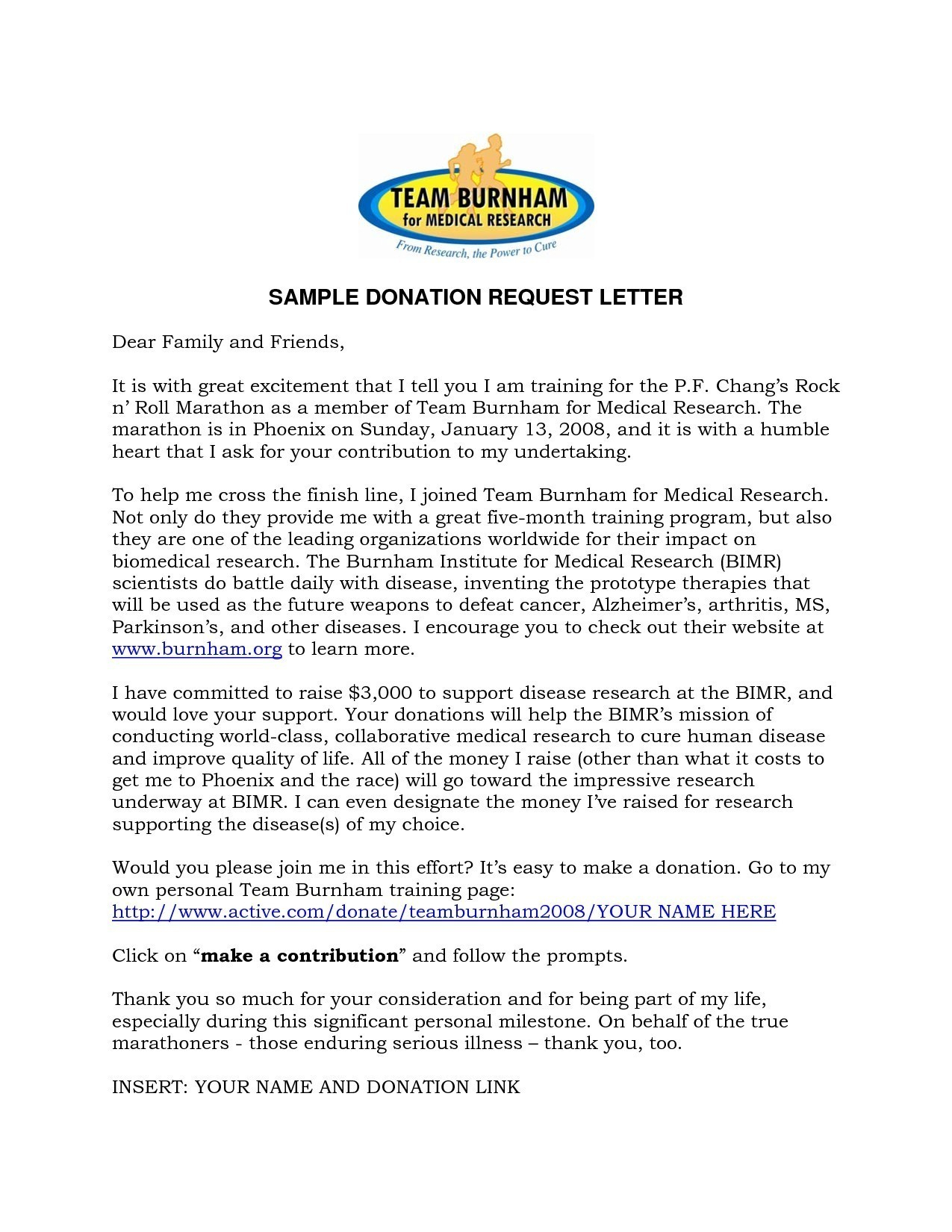 Personal Donation Letter Template - Samples Letters Request Donation New Sample Letters for Request for