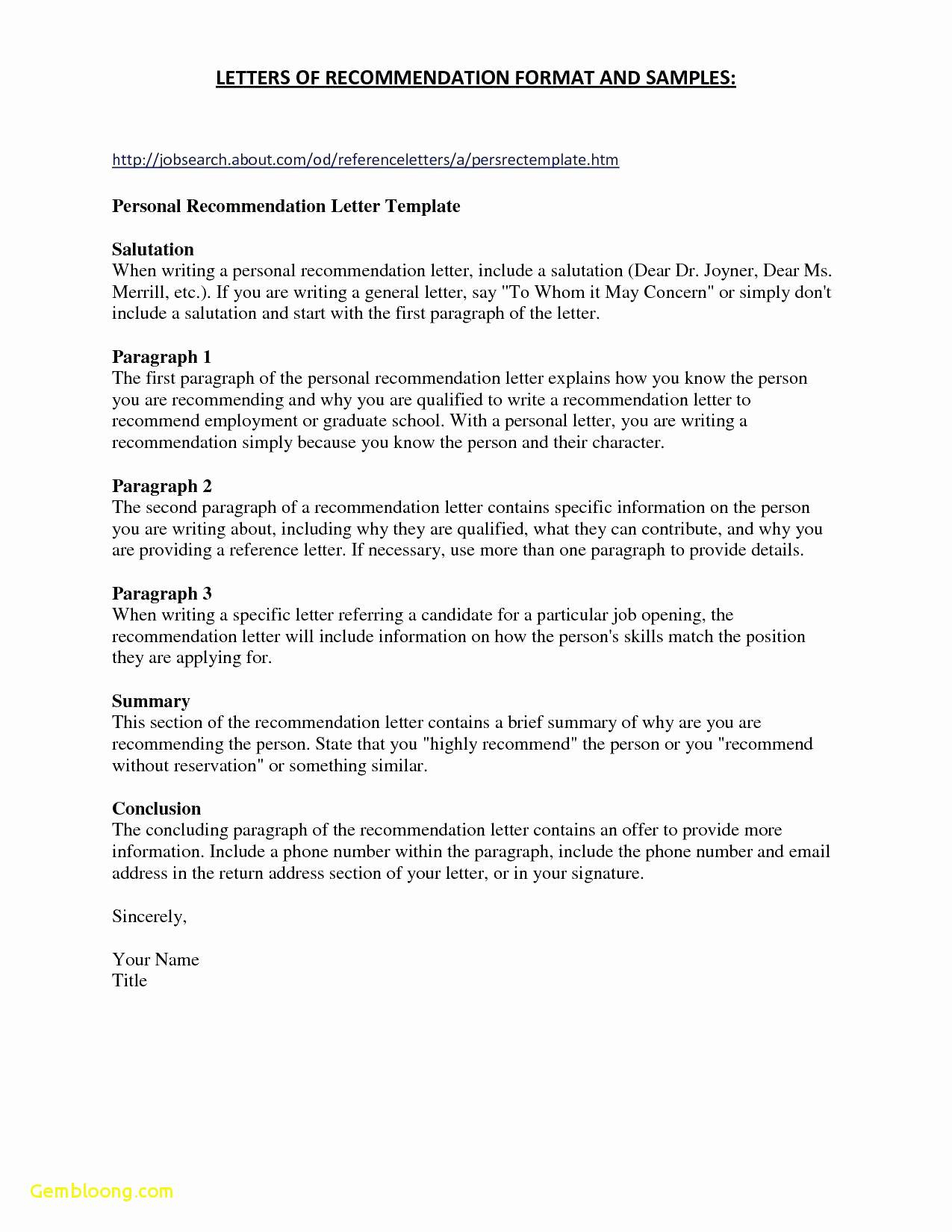 Character Reference Letter Template - Samples References for Resume Luxury References for Resume