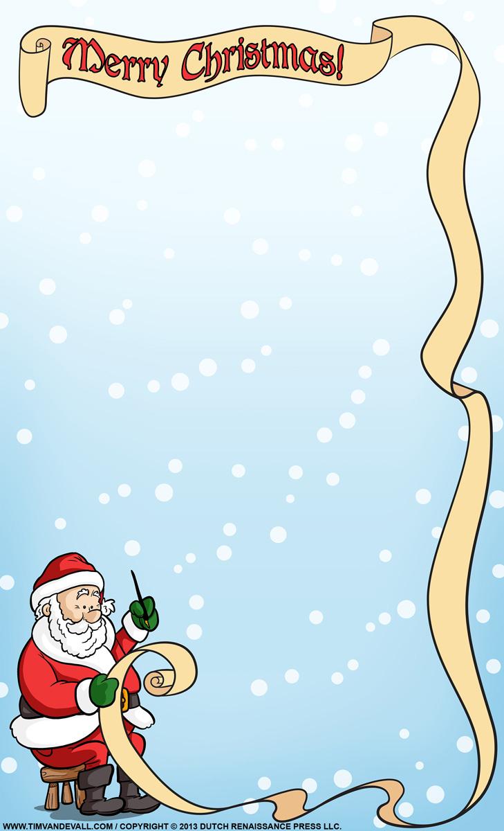 Christmas Letter From Santa Template - Santa Letter Background Template Acurnamedia