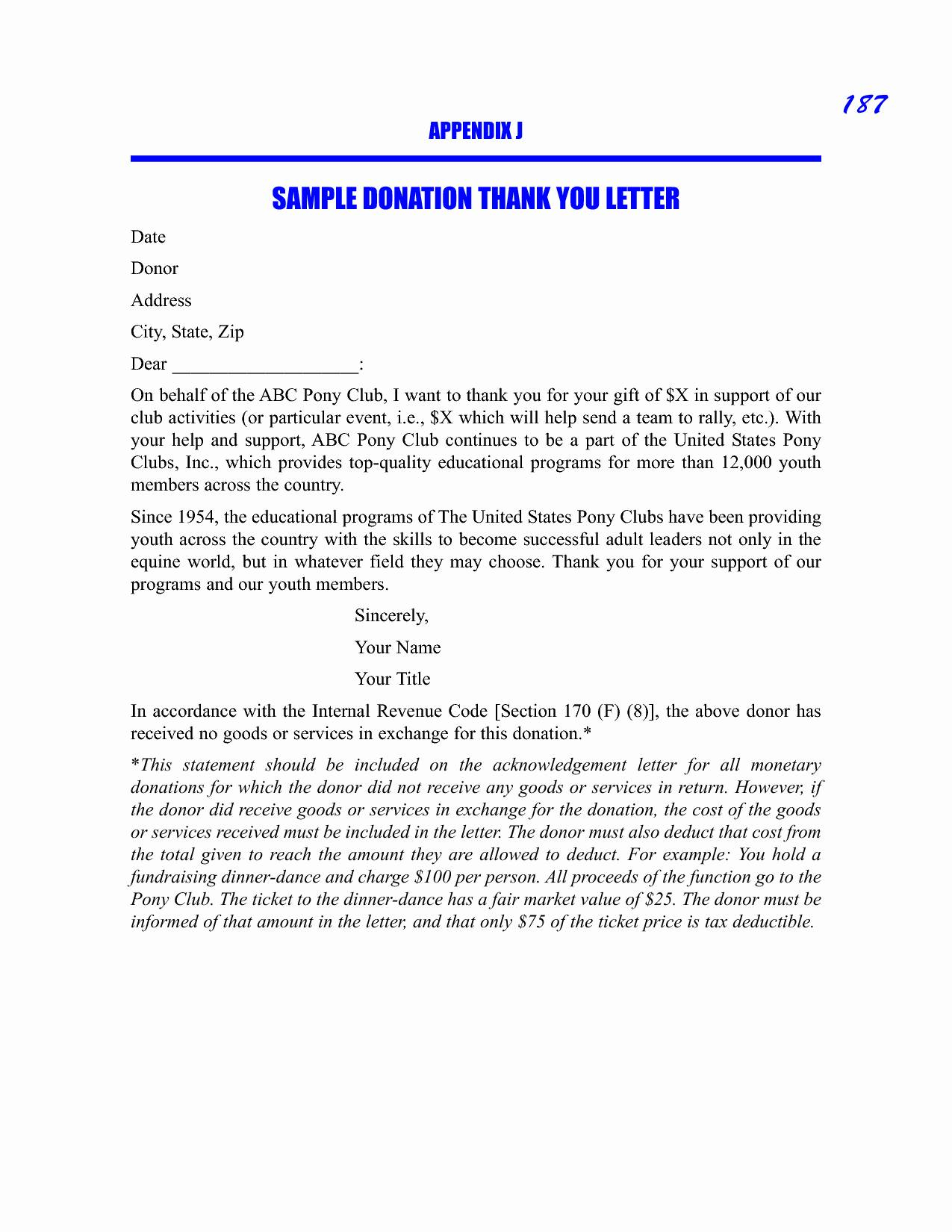 scholarship guidelines template - donation thank you letter template examples letter