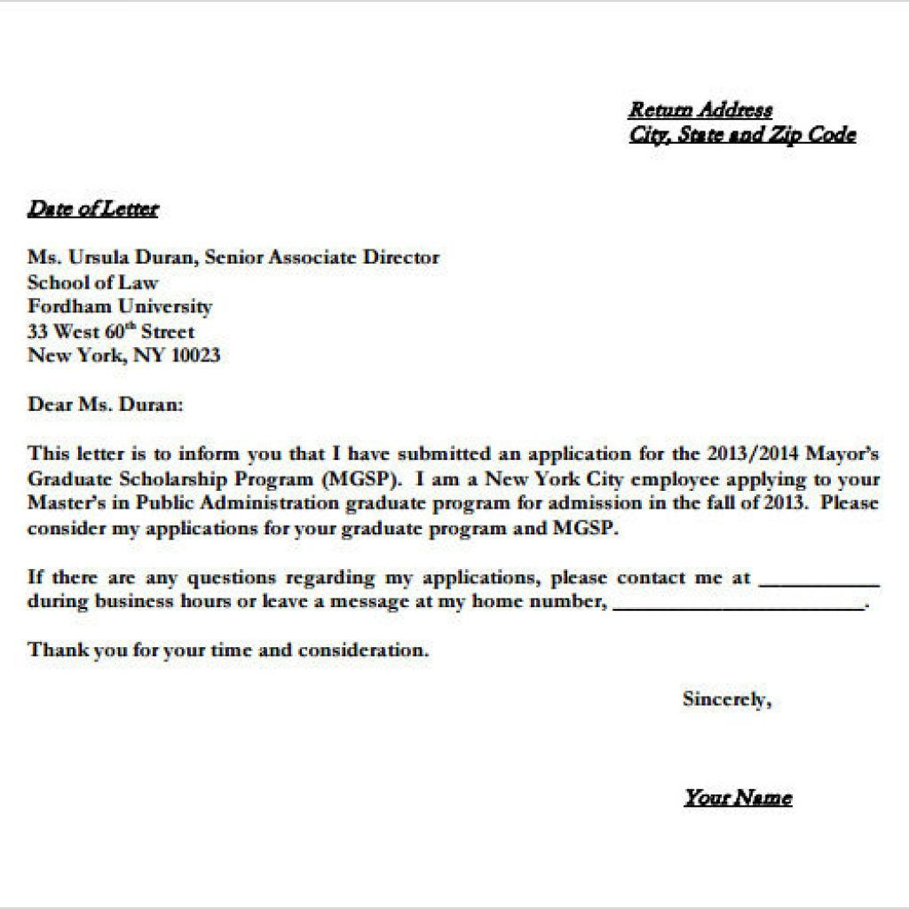 Generic Letter Of Intent Template - Scholarship Letter Sample New Letter Intent Real Estate Lease
