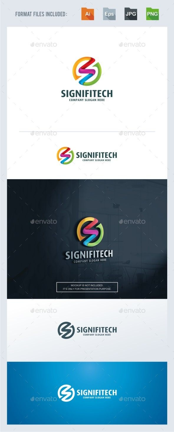 Letter Logo Template - Signifitech S Letter Logo Template