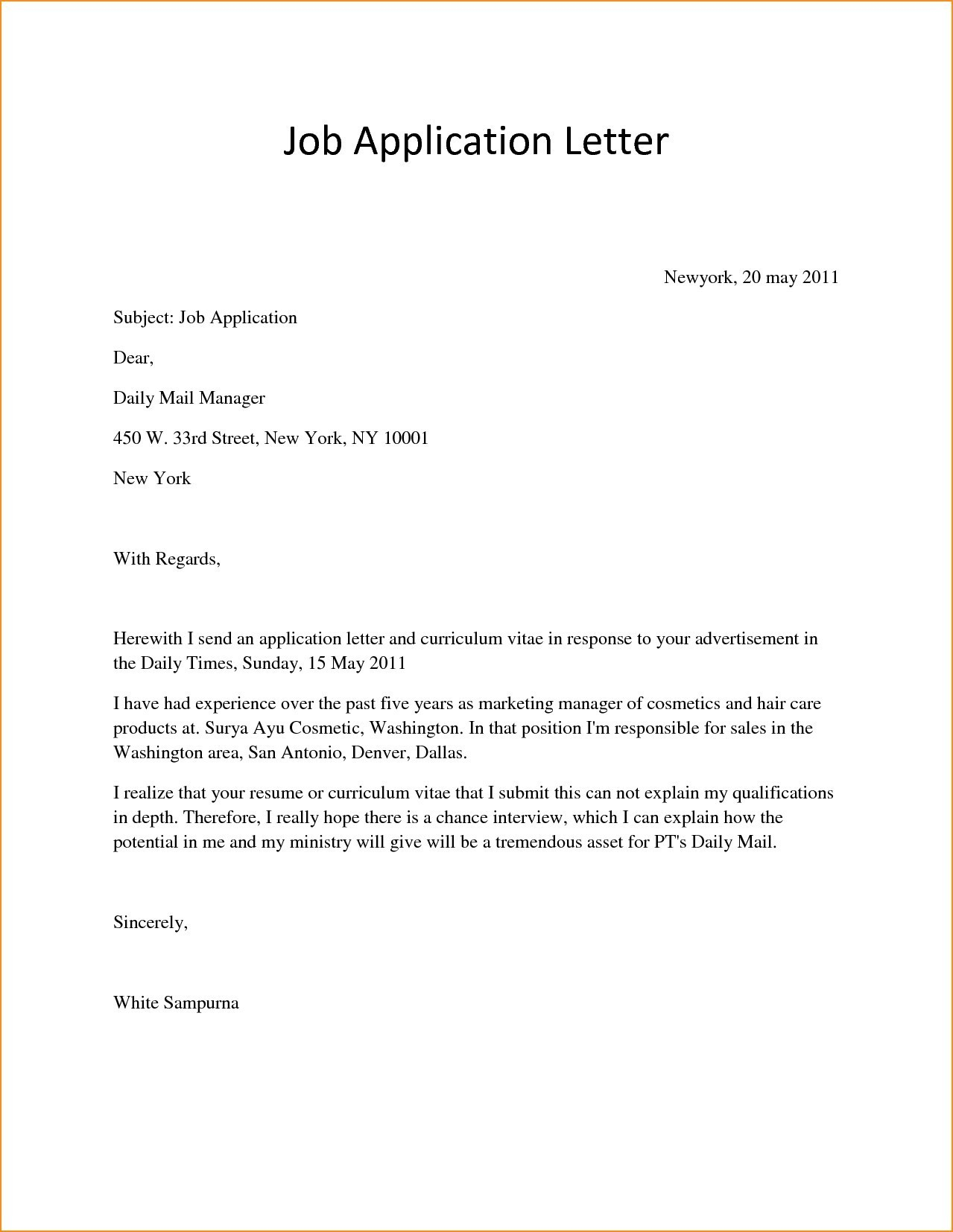 opt job offer letter template samples