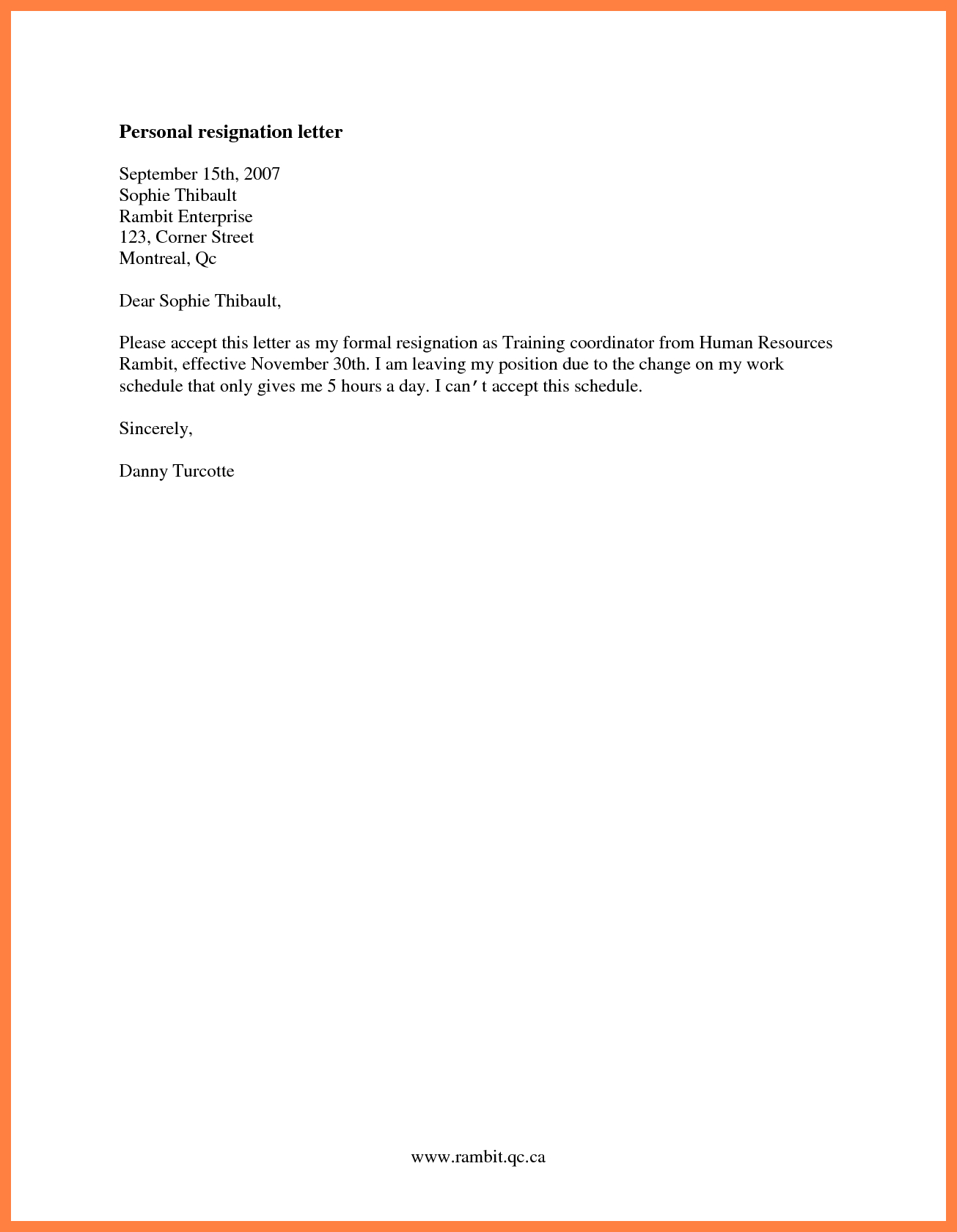 Basic Resignation Letter Template - Simple Letter Resignation Tire Driveeasy Co Resign Example