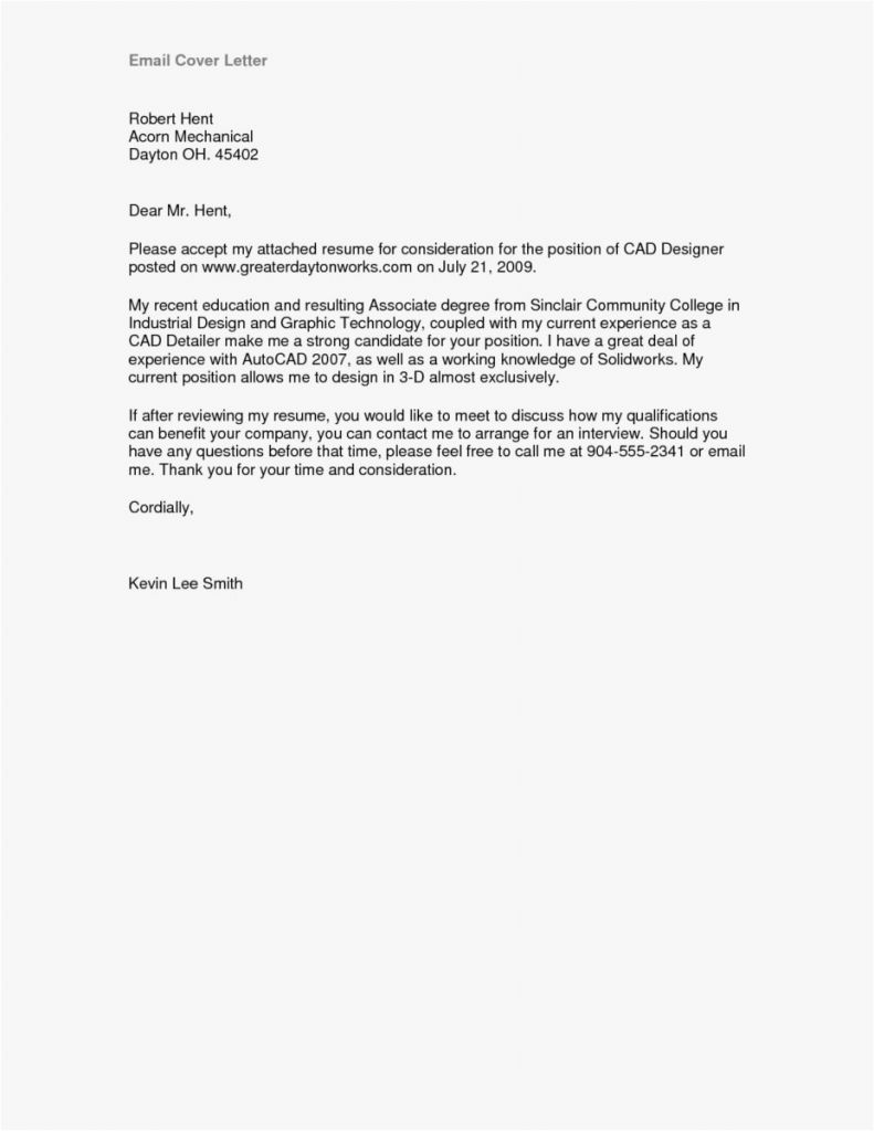 Job Cover Letter Template - Simple Resume Cover Letter Template Roddyschrock
