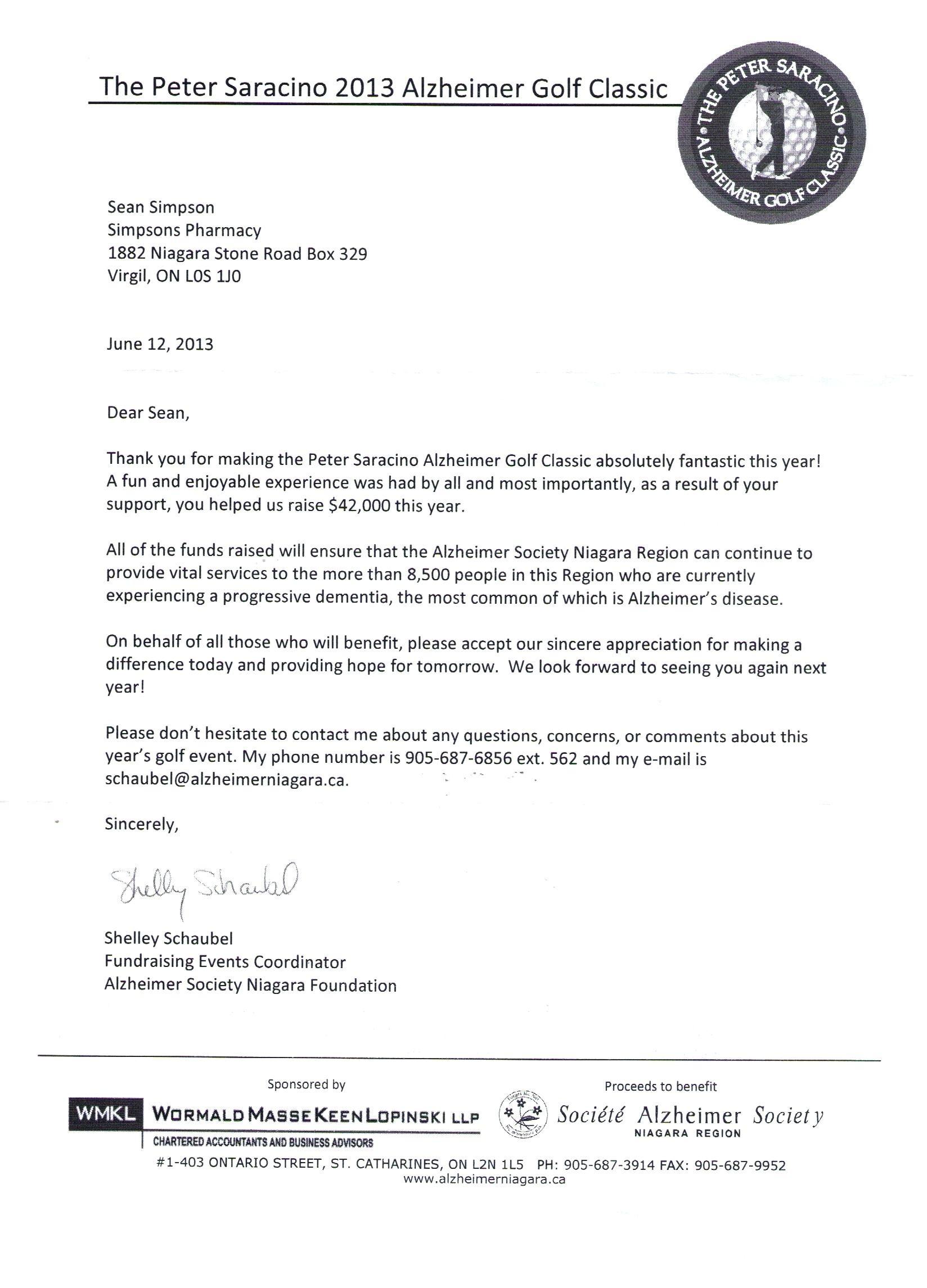 Golf tournament Donation Letter Template - Sponsorship Letter for Sports Refrence Template Sport Sponsorship