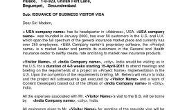 Visa Invitation Letter Template Usa Business - Sponsorship Letter format for German Visa New Sponsor Letter Visa