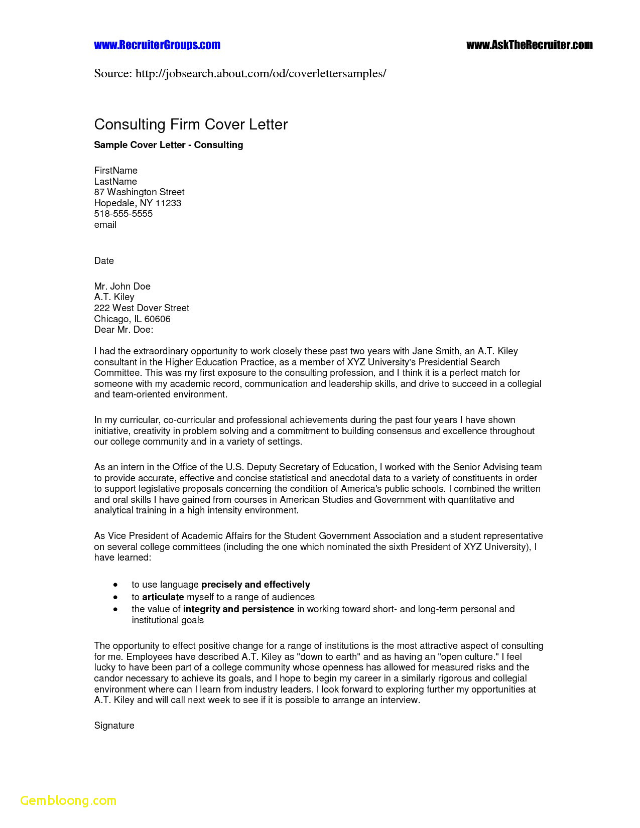 Cover Letter Template for First Job - Students Resume Templates Free Download First Job Resume Templates