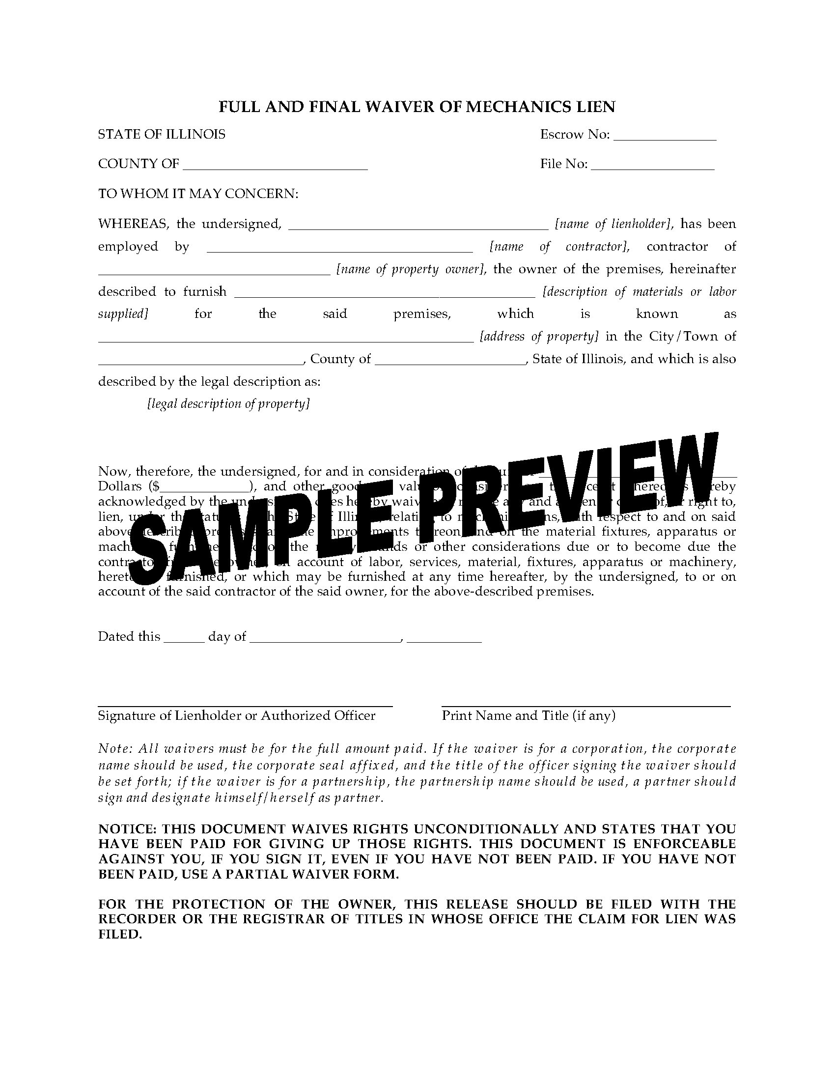 Mechanics Lien Letter Template - Subcontractorter Intent Template the Bravo Mechanics Lien
