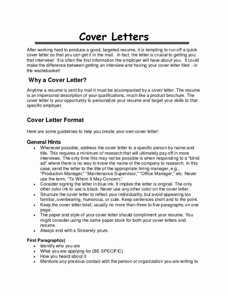 Targeted Cover Letter Template Collection