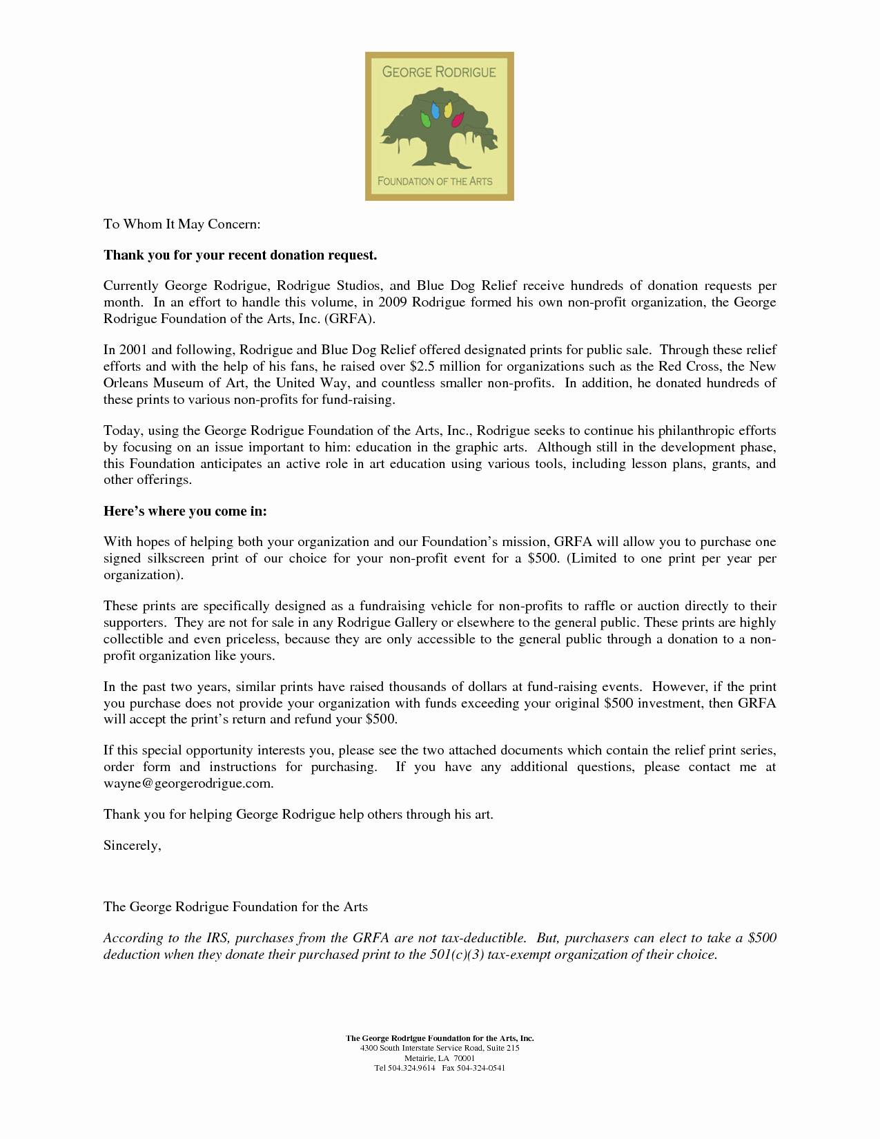 Tax Deductible Donation Thank You Letter Template - Tax Donation Letter Template Awesome Salvation Army Donation