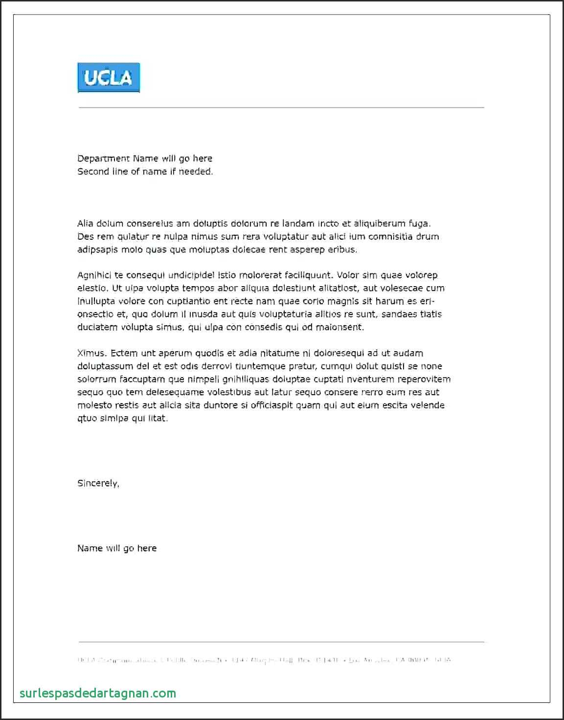Free Business Letter format Template - Template Recipe Template for Microsoft Word Business Letter Free