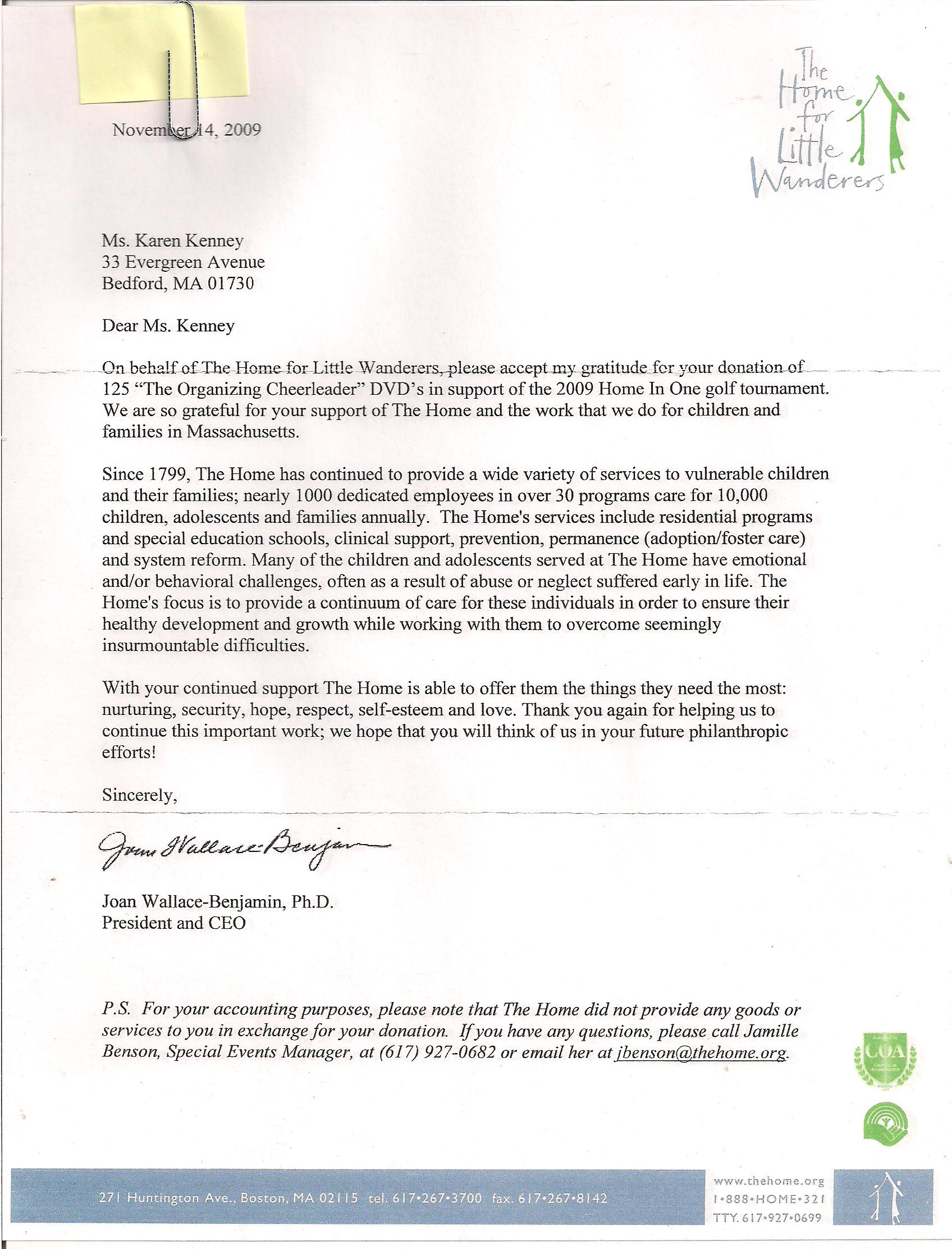 Golf tournament Thank You Letter Template - Thank You for Your Continued Support Letter Choice Image Letter