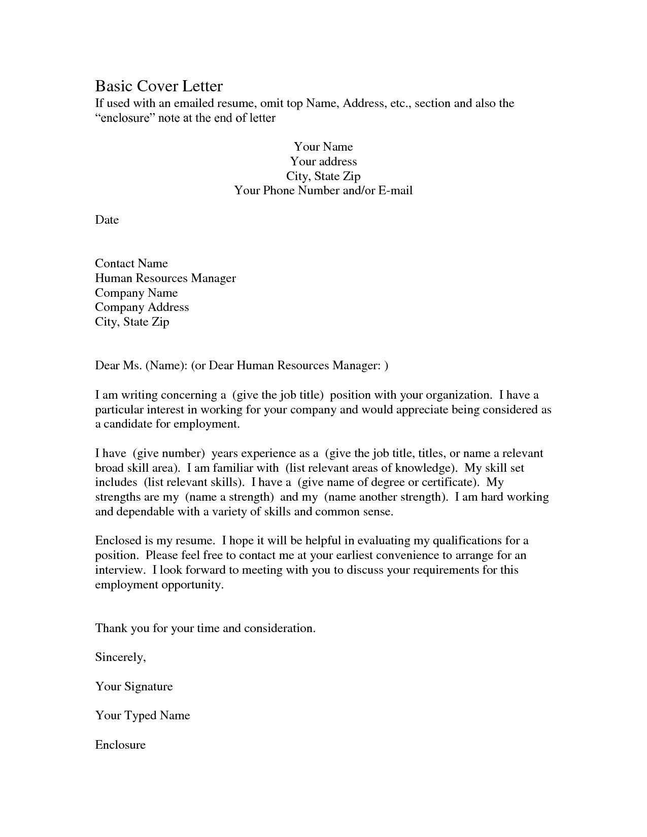 Relocation Cover Letter Template Free