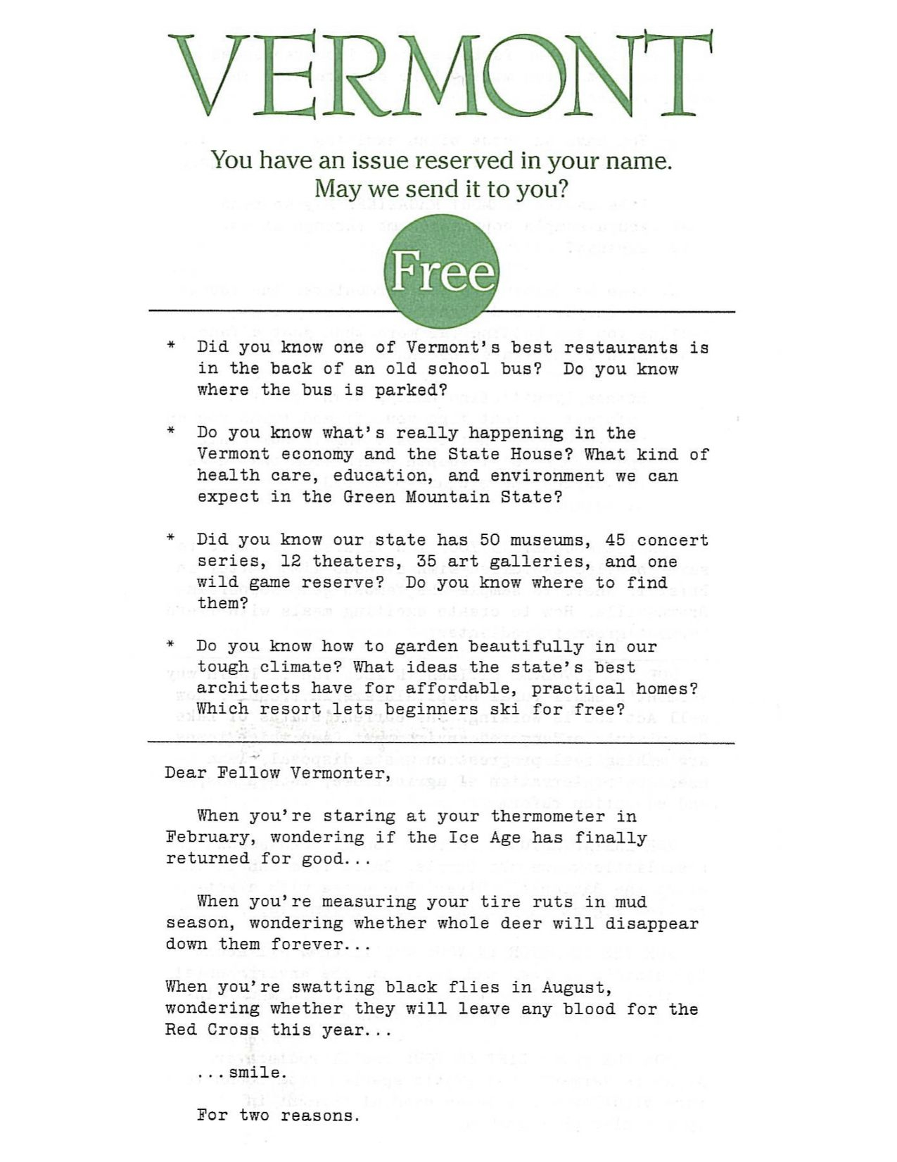 Direct Mail Sales Letter Template - This Was My First Of Three Winning Direct Mail Sales Letters for