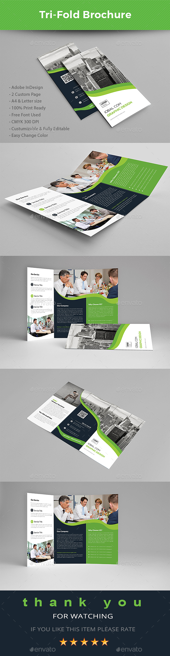 Letter Size Tri Fold Brochure Template - Tri Fold Brochure