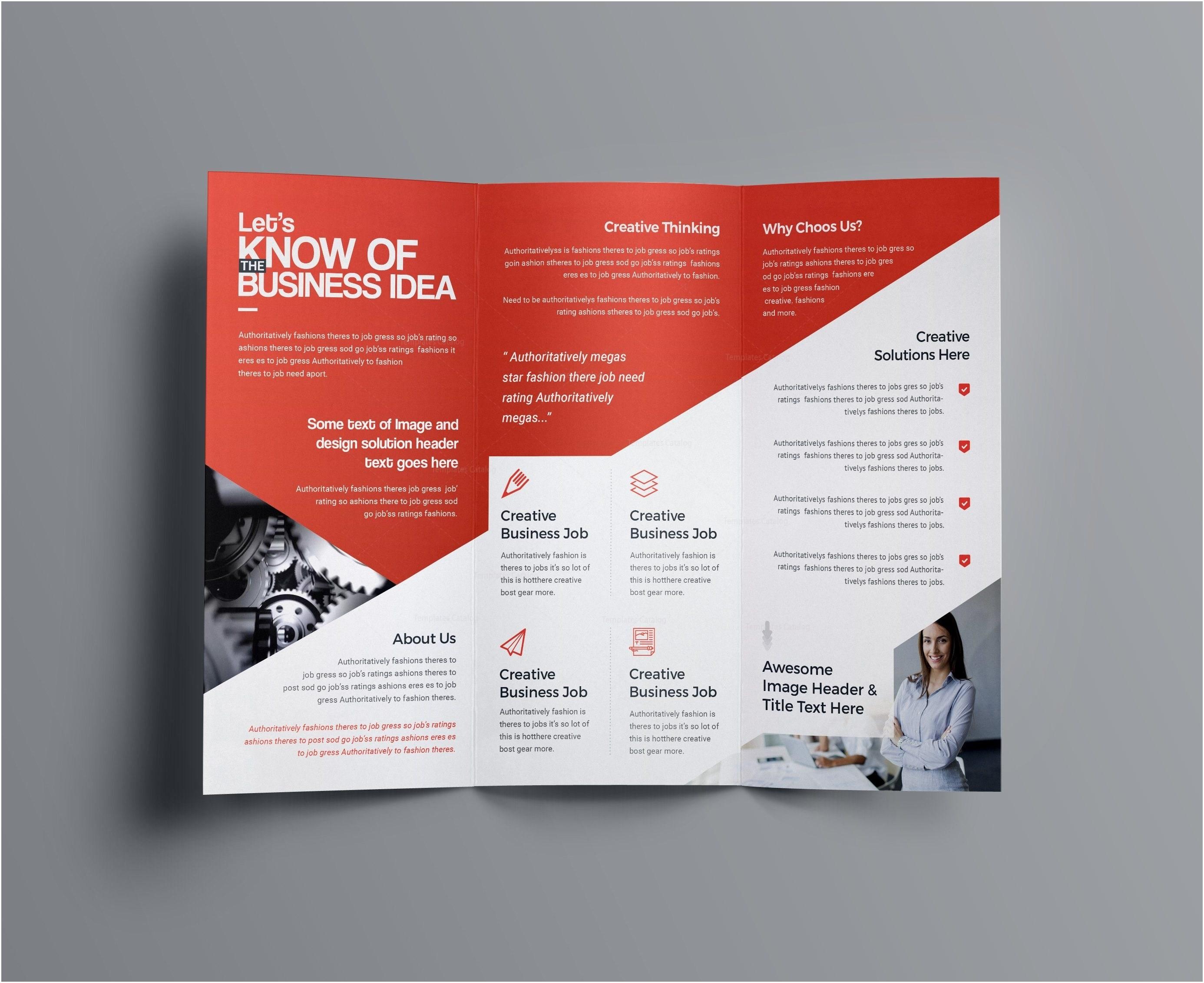Letter Size Tri Fold Brochure Template - Tri Fold Brochure Template Free Fresh Pany Brochure Template Free