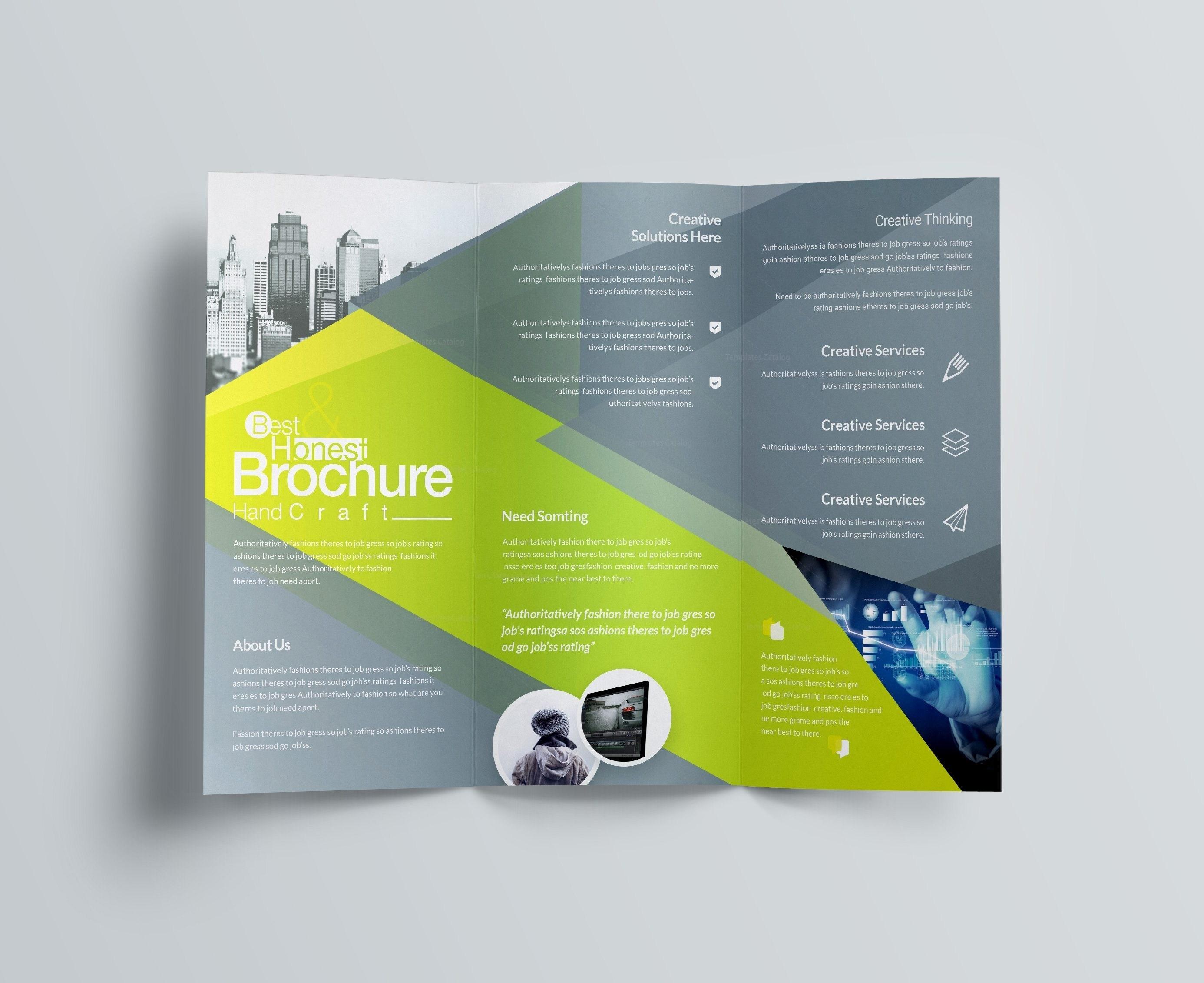 Tri Fold Letter Template - Tri Fold Brochure Template Free Unique 26 Inspirational Tri Fold