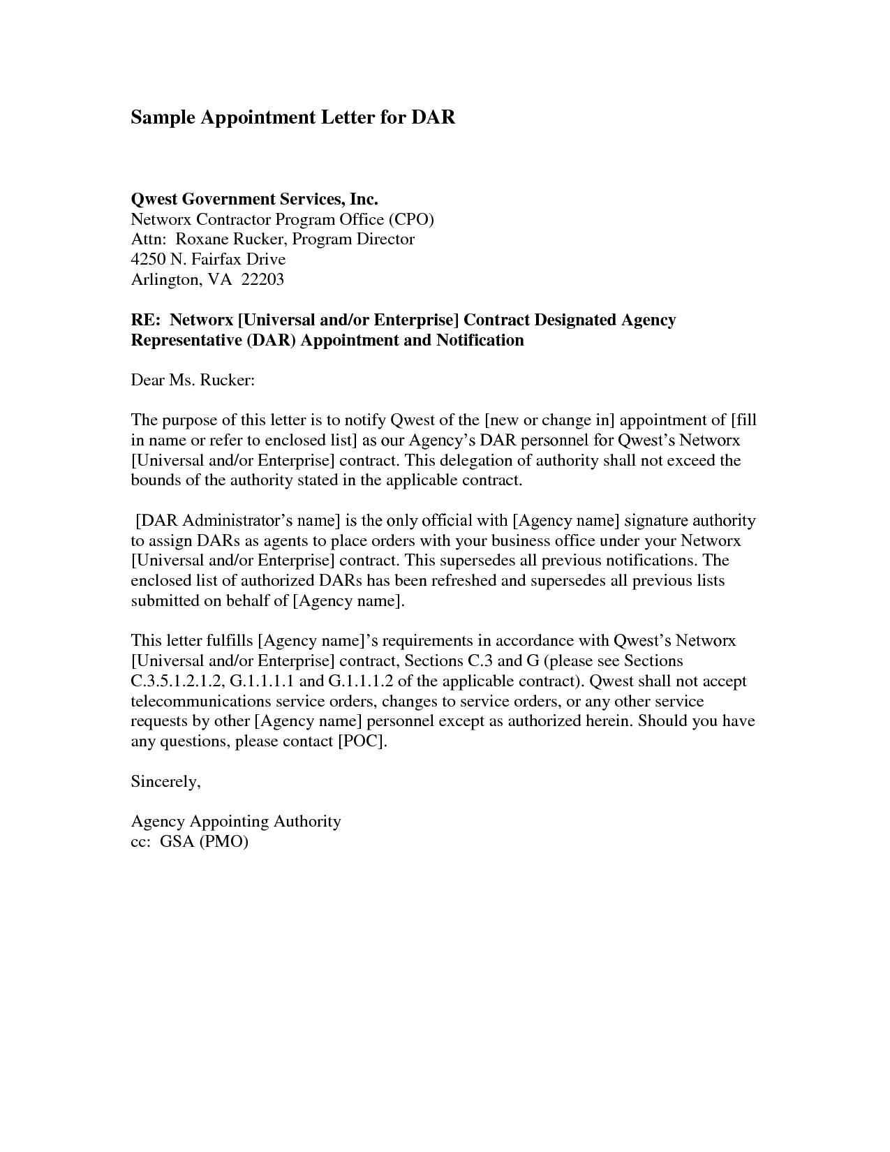 Unauthorized Tenant Letter Template - Trustee Appointment Letter Director Trustee is Appointed or