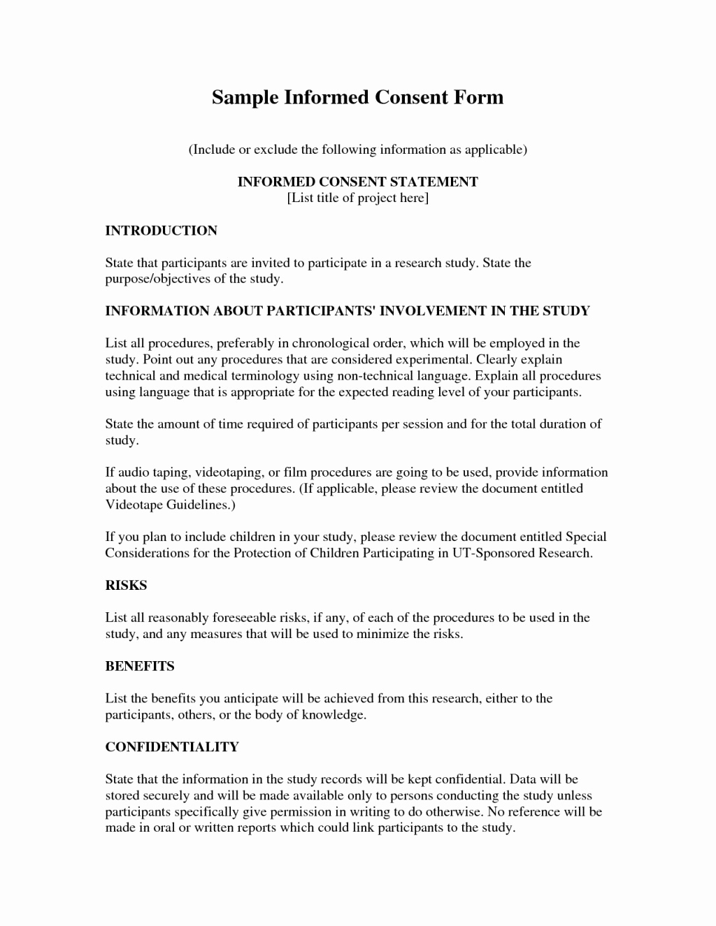 Medical Consent Letter Template Vaccine Form Sarahepps