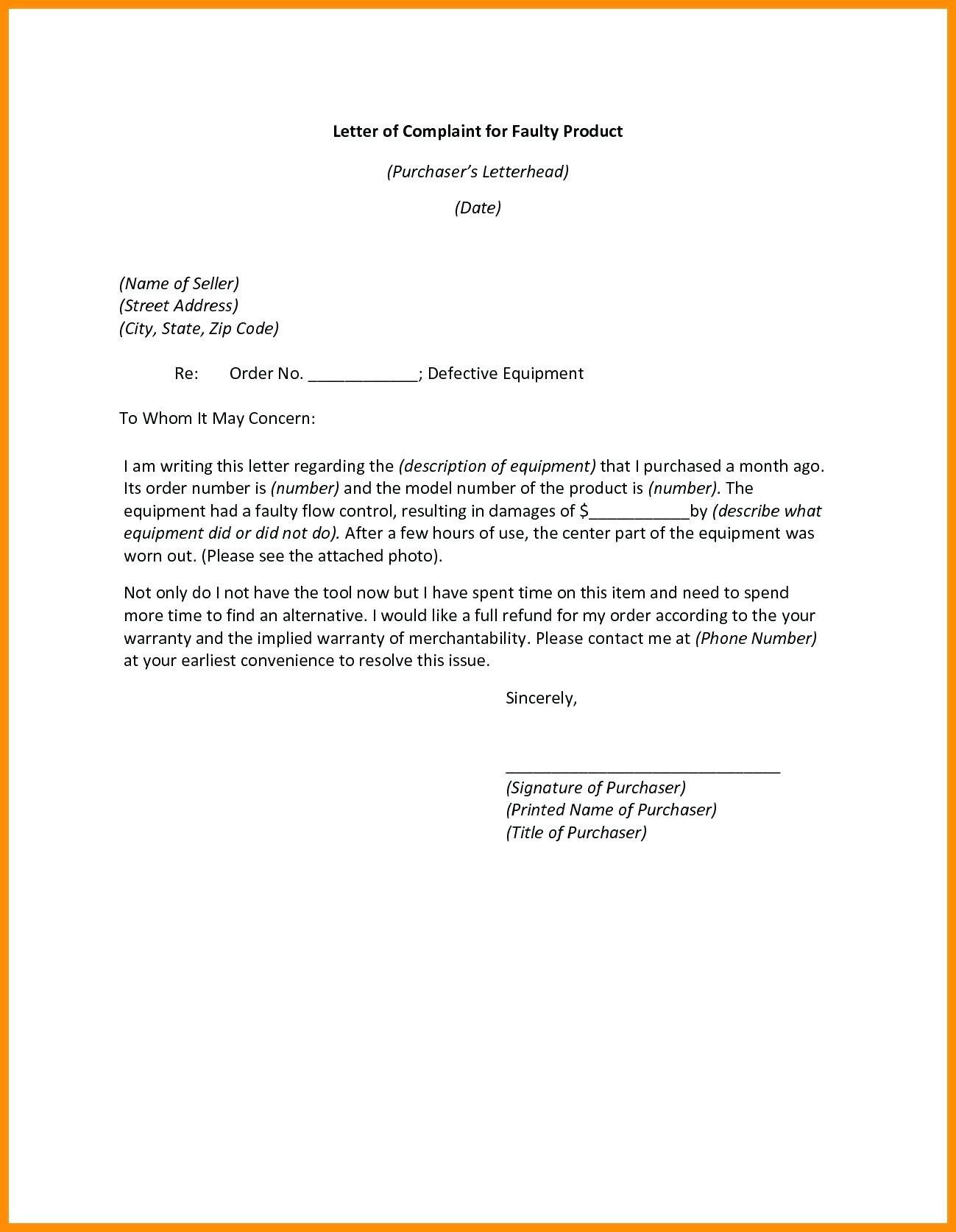Subcontractor Warranty Letter Template - Warranty Certificate Sample Doc Best Template Product Warranty